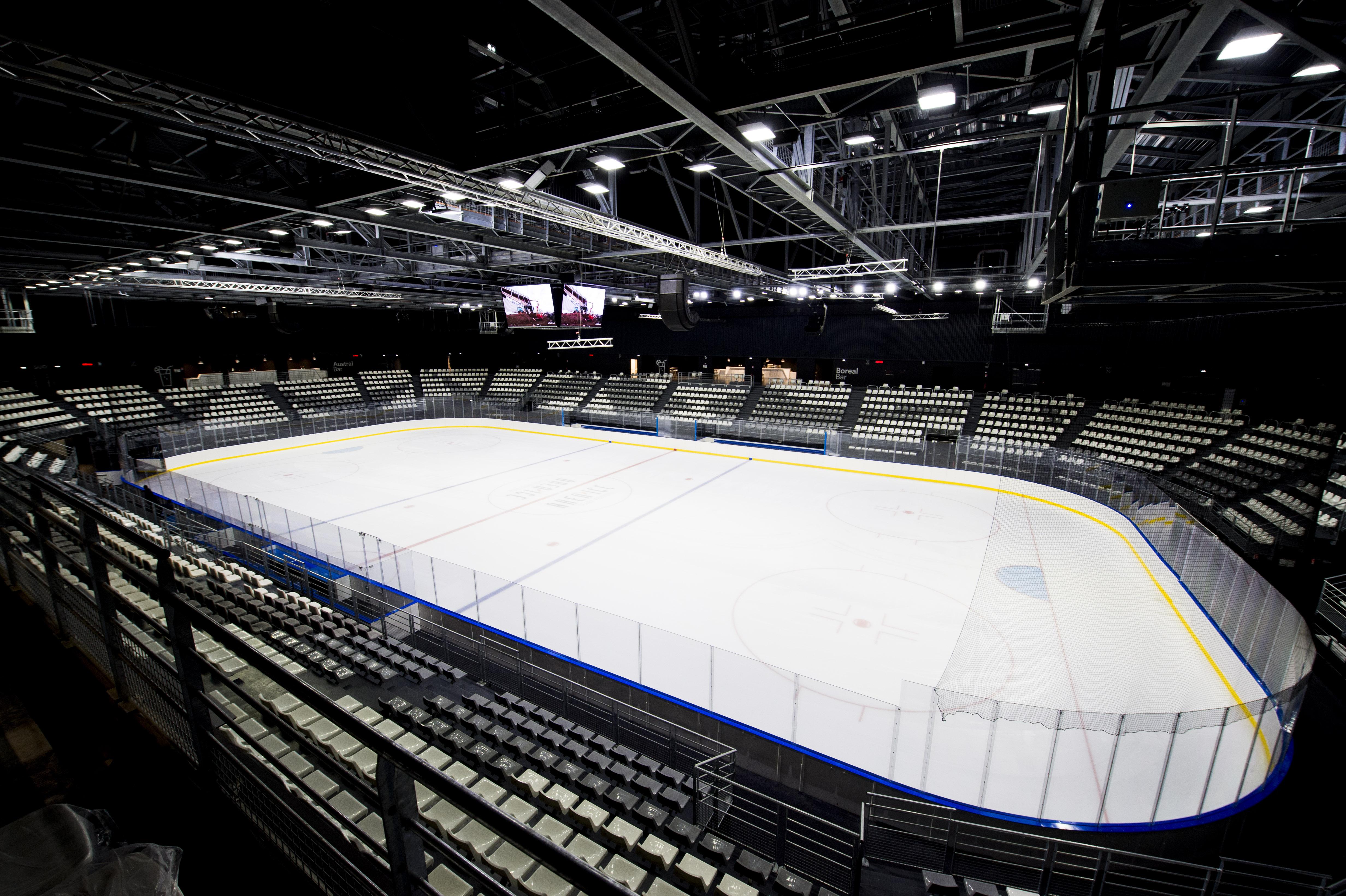 Sports d'hiver - DIRECT - A la découverte du Clairefontaine du hockey