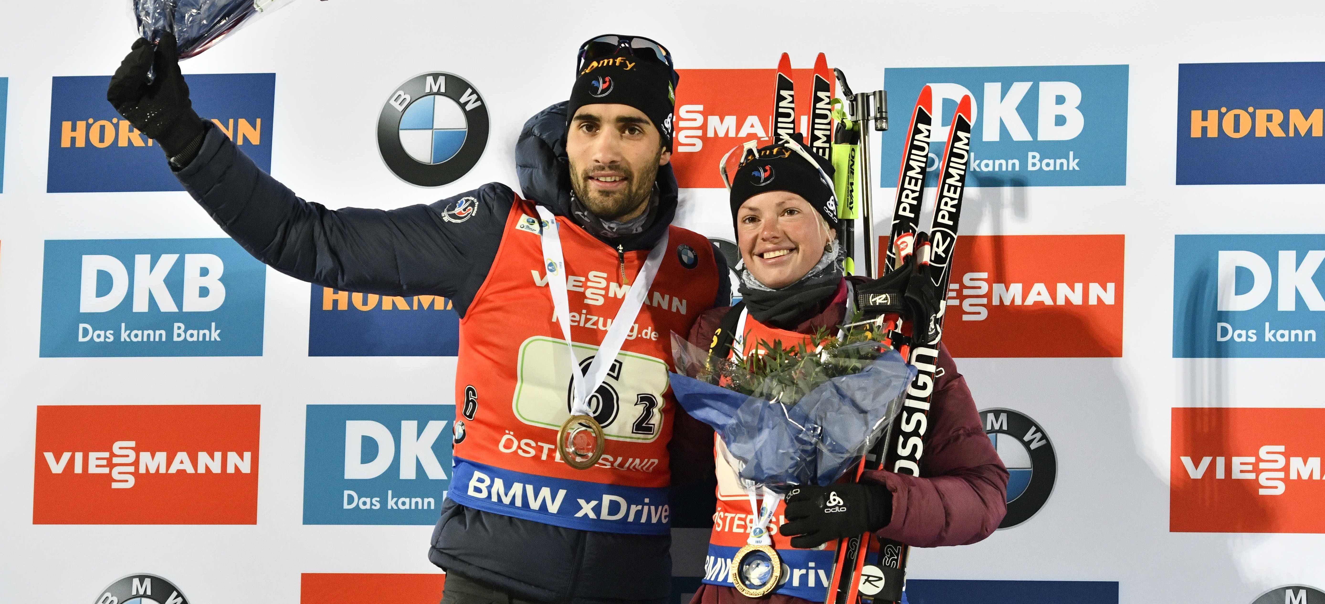 Sports d'hiver - Relais : Fourcade et Dorin-Habert sont déjà chauds