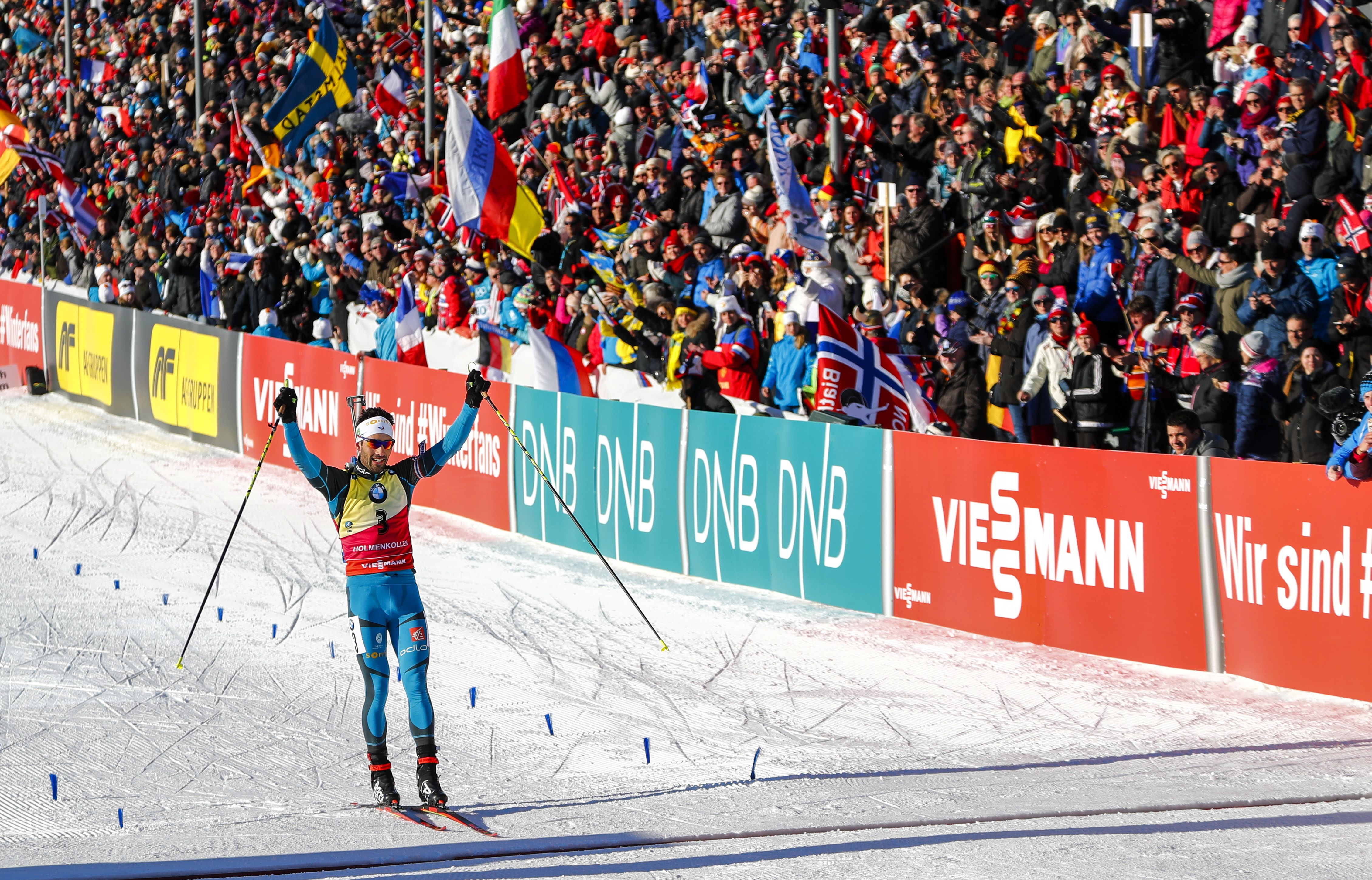 Sports d'hiver - Martin Fourcade s'approche du gros globe