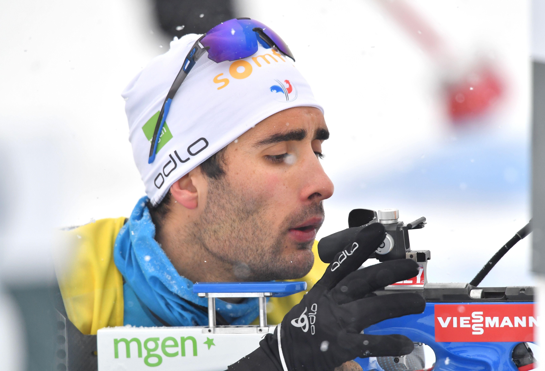 Sports d'hiver - Martin Fourcade et les Bleus frustrés par Johannes Boe