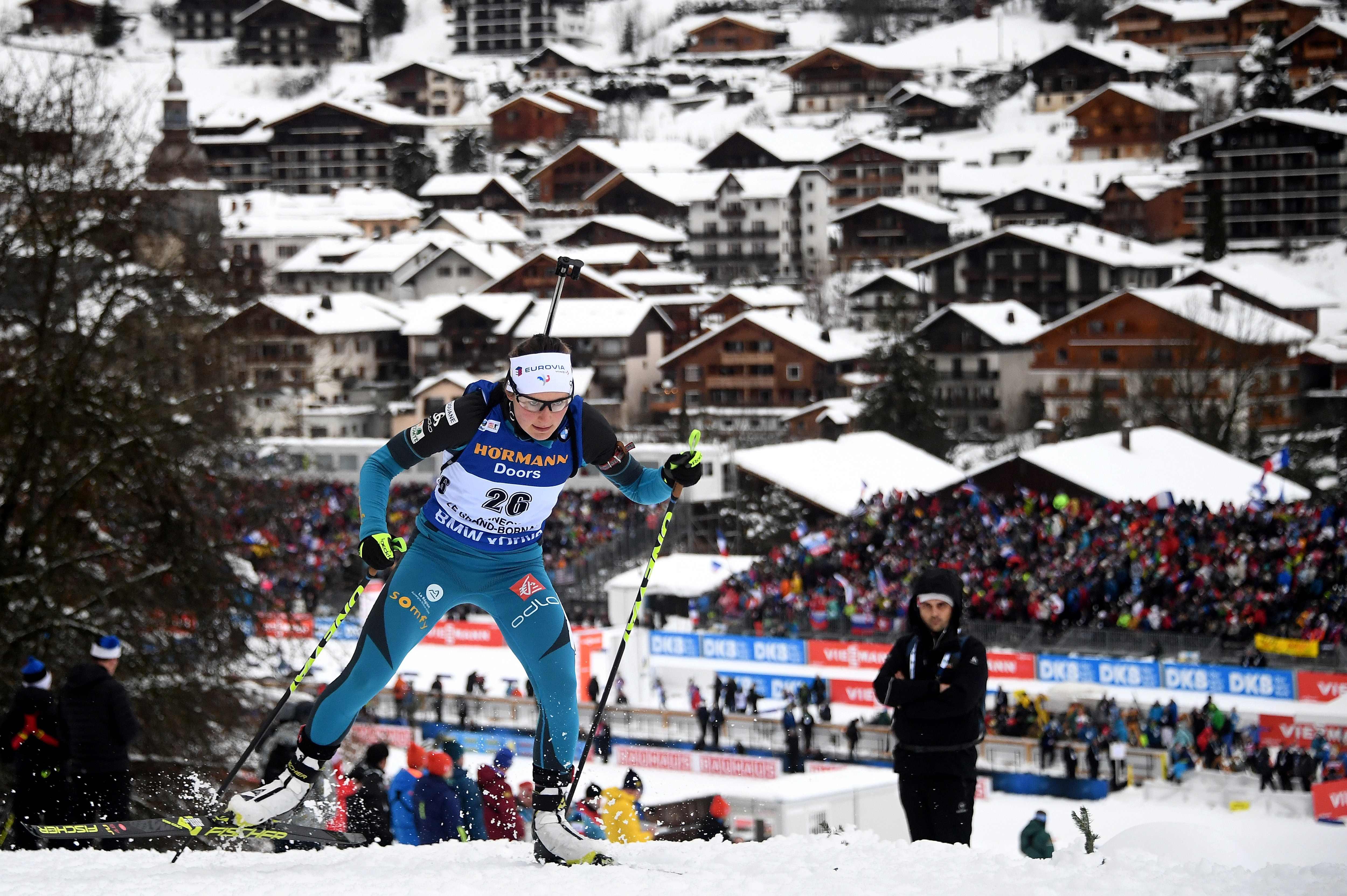 Sports d'hiver - Justine Braisaz : «J'ai couru avec les boules Quiès»