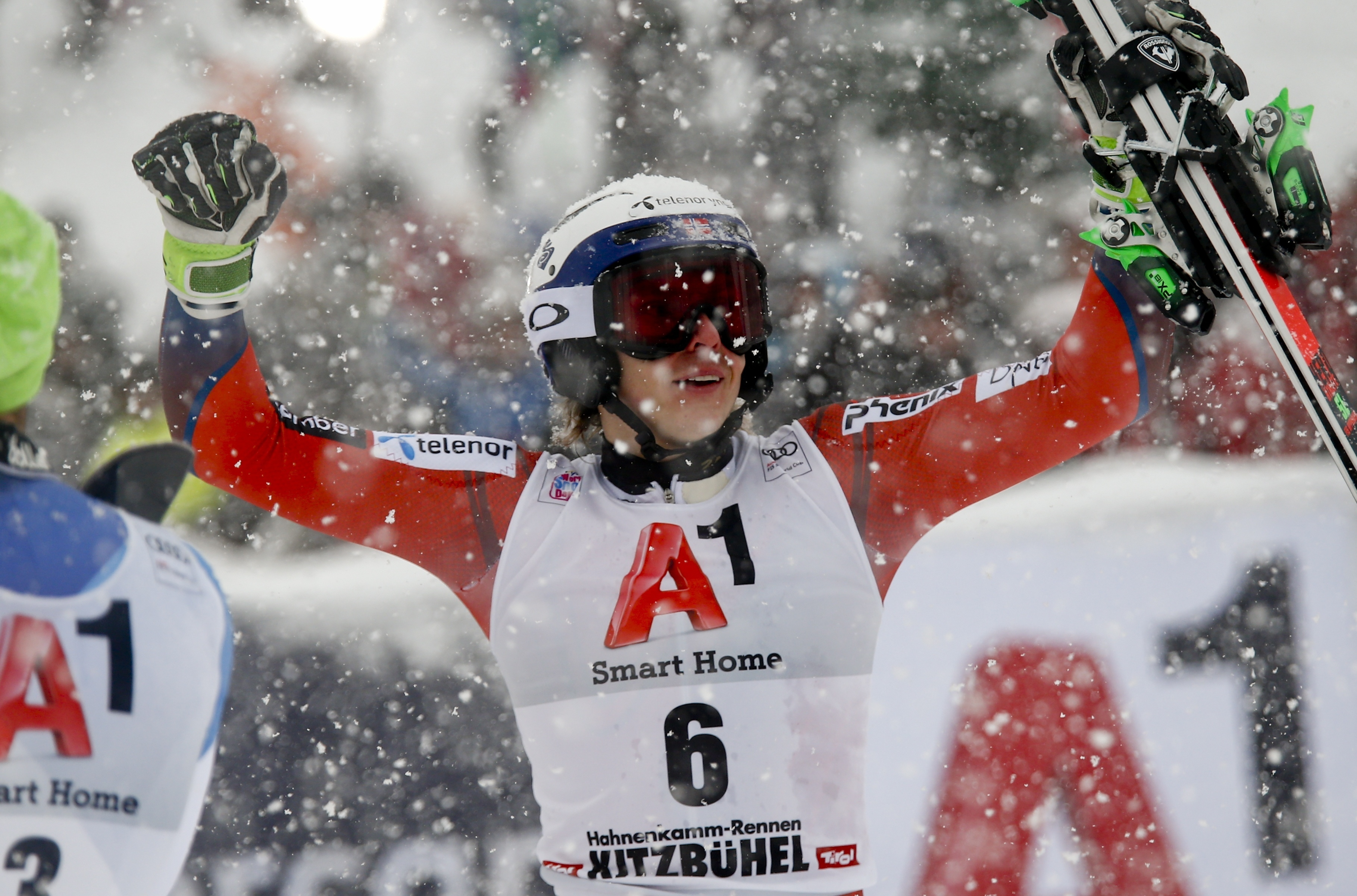 Sports d'hiver - Kristoffersen la tient enfin, Muffat-Jeandet confirme