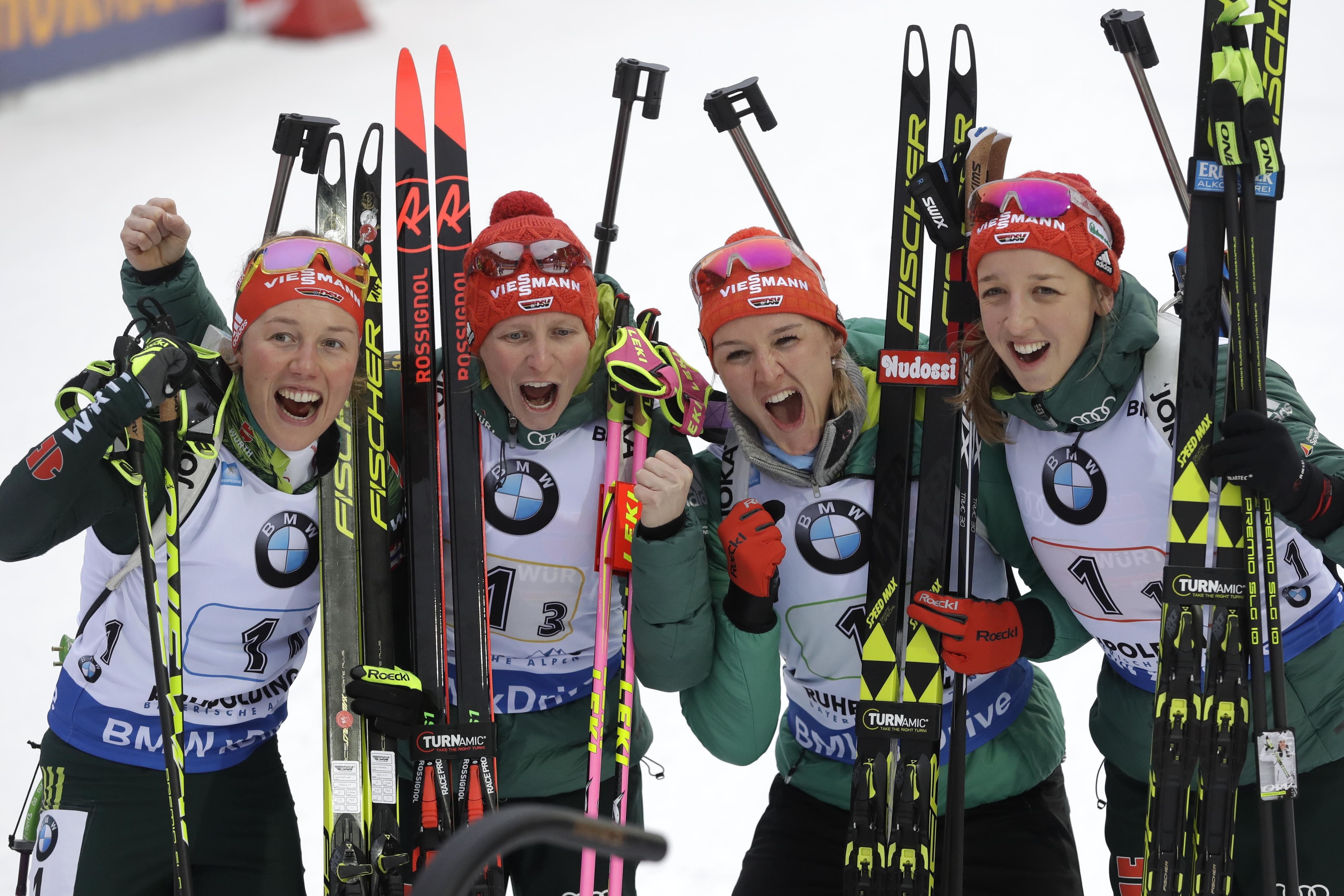 Sports d'hiver - L'Allemagne se régale chez elle, la France retombe sur terre