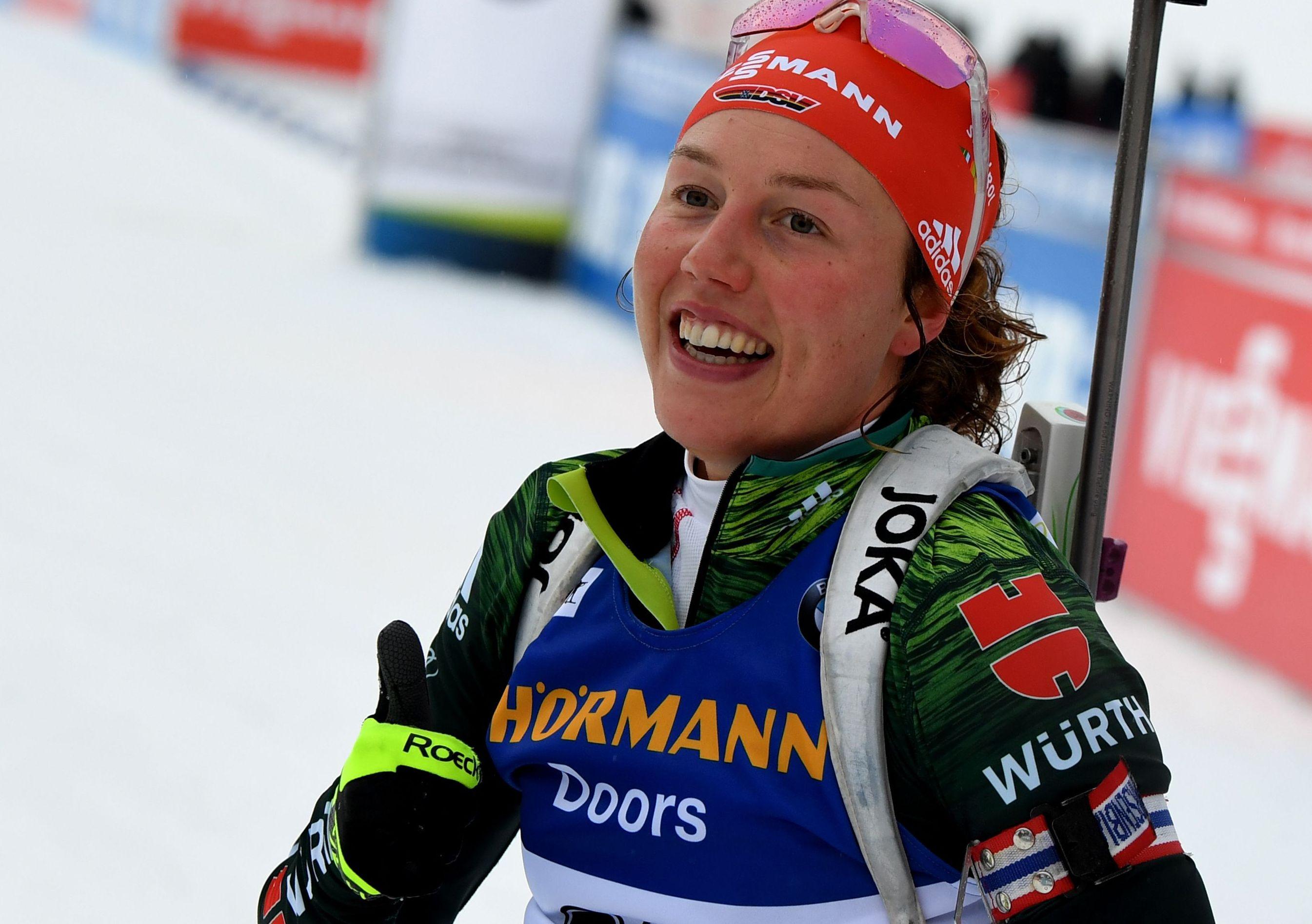 Sports d'hiver - Laura Dahlmeier brille au Grand Bornand