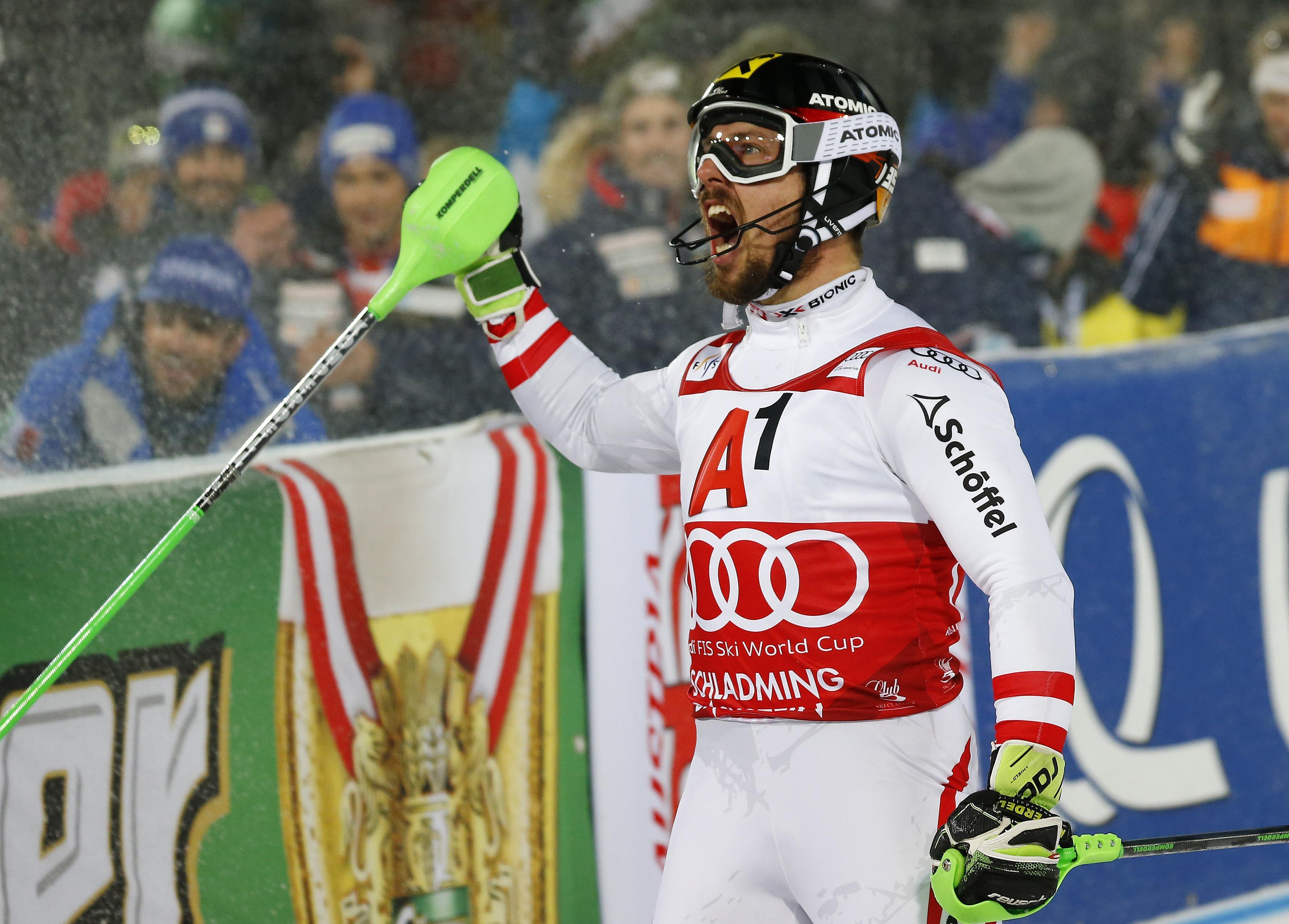 Sports d'hiver - Schladming : Impérial, Marcel Hirscher égale Hermann Maier