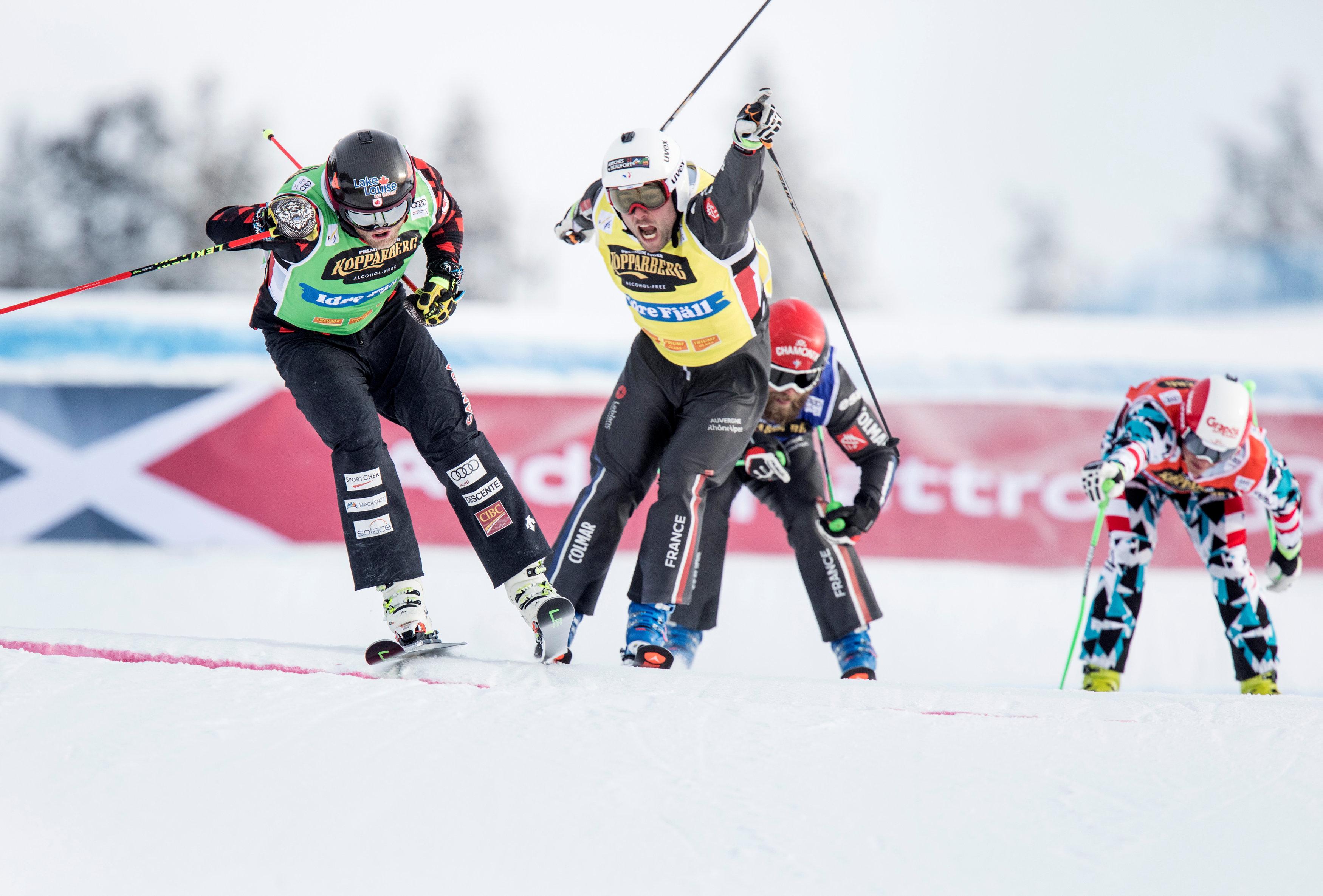 Sports d'hiver - Skicross : Chapuis remporte son 3e globe de cristal