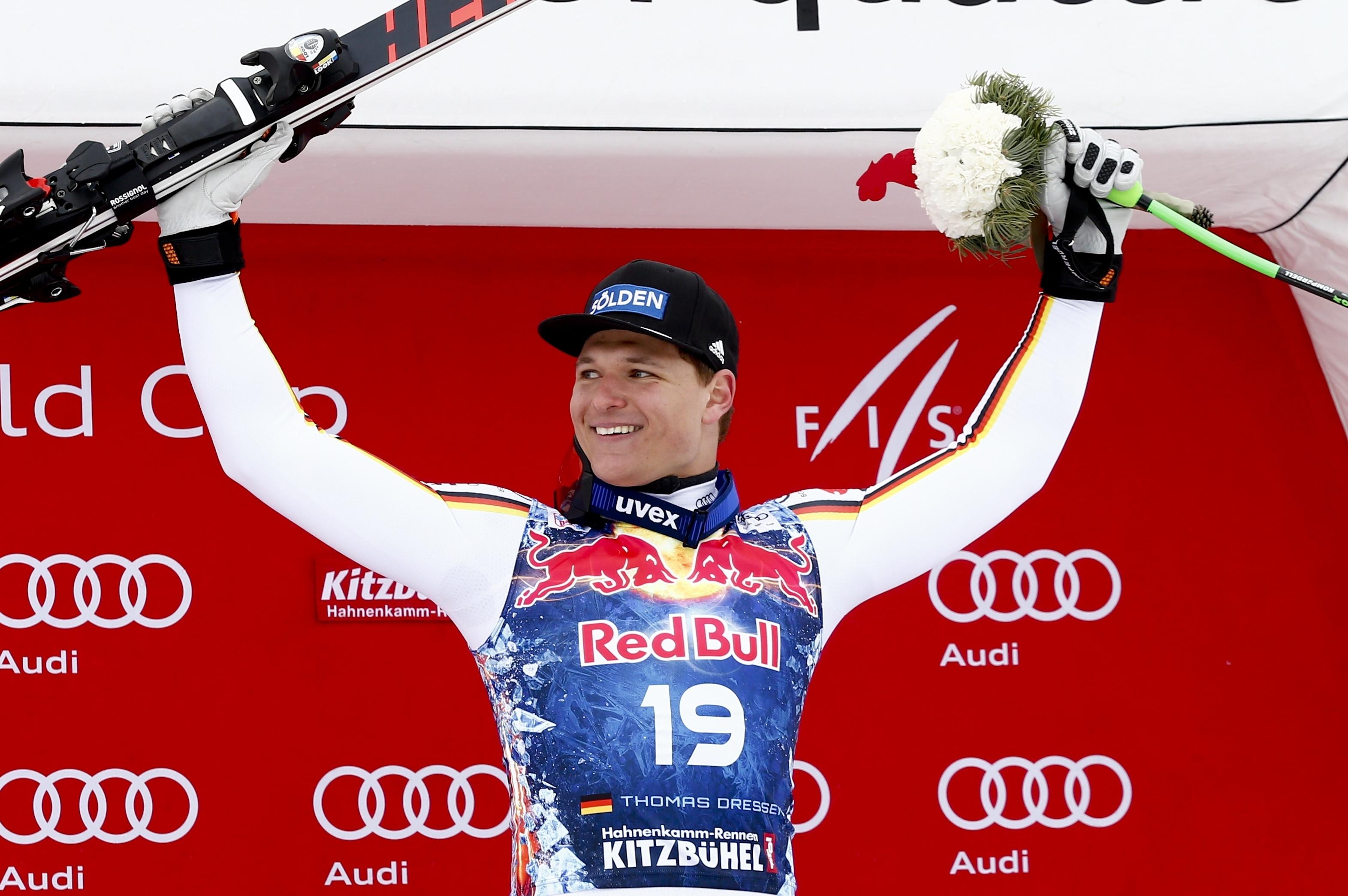 Sports d'hiver - Thomas Dressen, vainqueur surprise à Kitzbühel