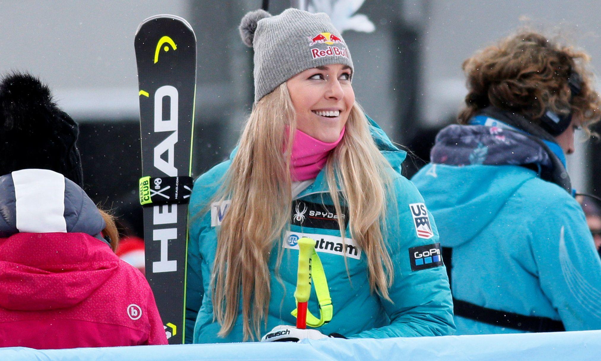 Sports d'hiver - Vonn remet les choses au clair à Val d'Isère