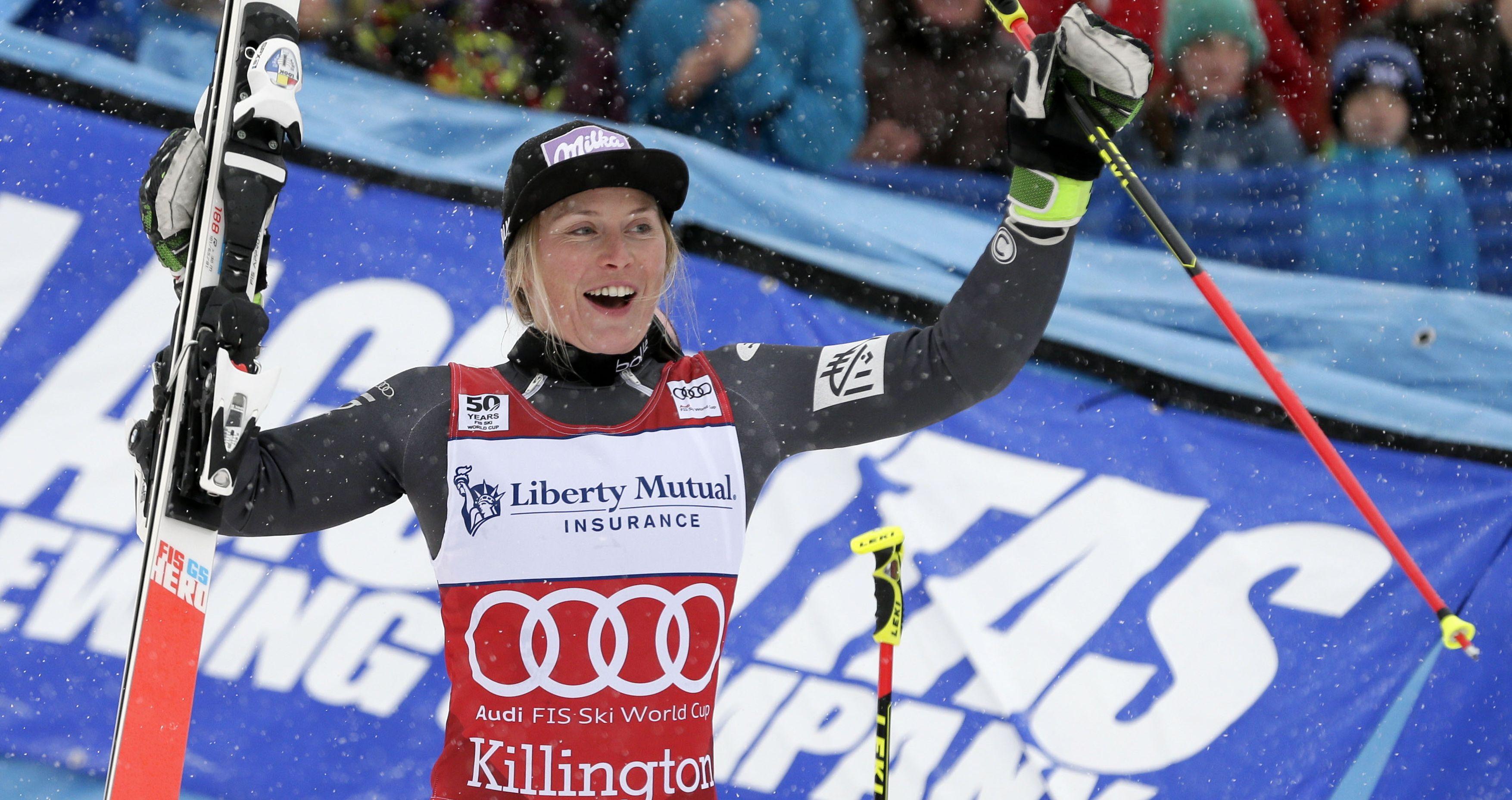 Sports d'hiver - Worley renoue avec les sommets