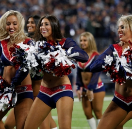 Cheerleaders de New England