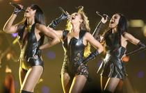 Beyonce (au centre) et les Destiny's Child