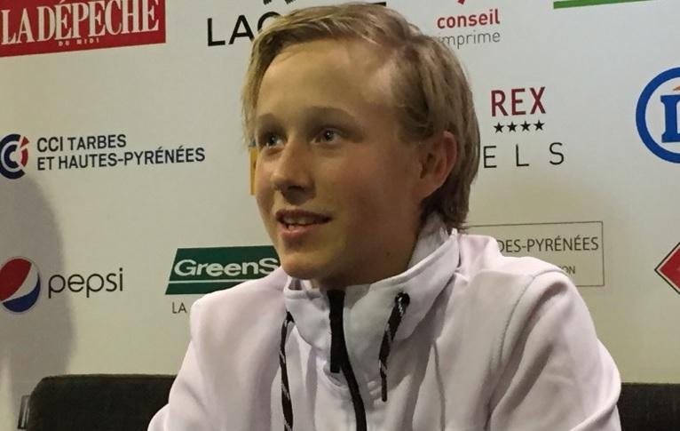Tennis - A la découverte de Leo, le fils de Björn Borg