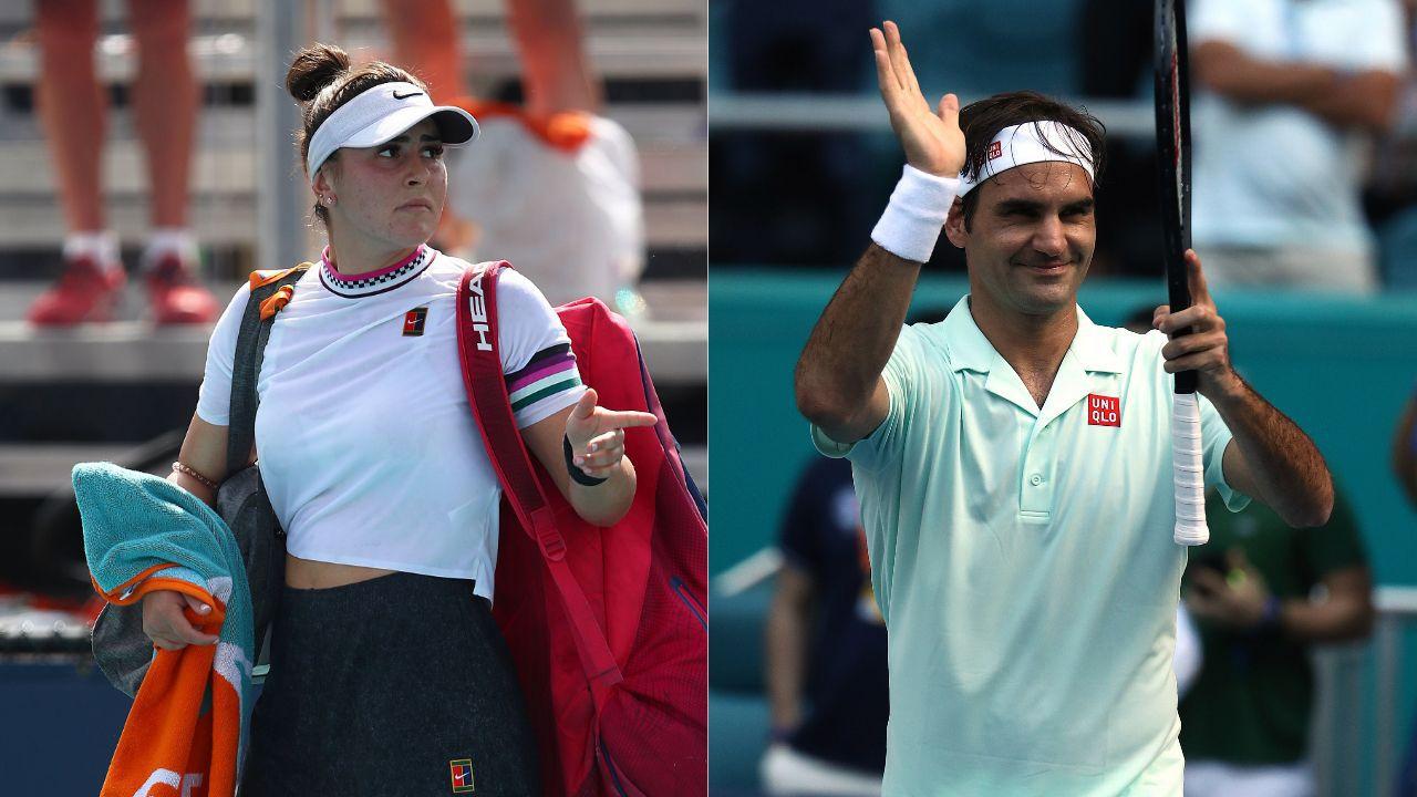 Infos Sports : Tennis - </b>Andreescu revient sur terre, Federer acc&#233;l&#232;re