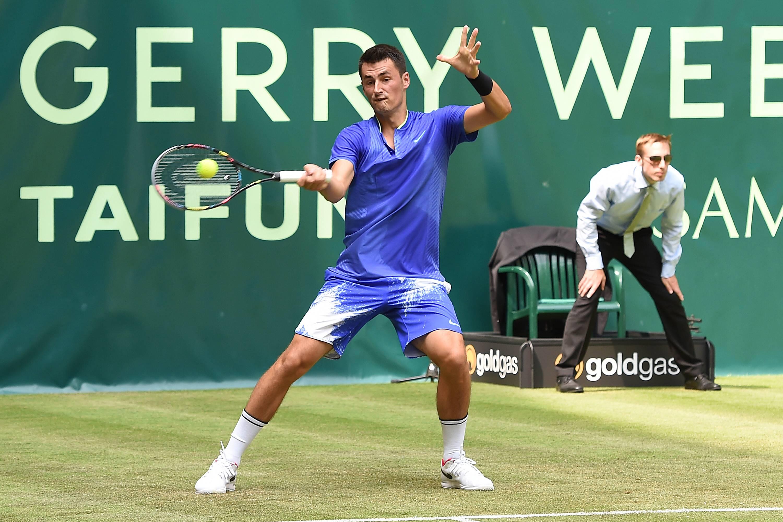 Tennis - Bernard Tomic demande au public «de ne pas venir le voir jouer»