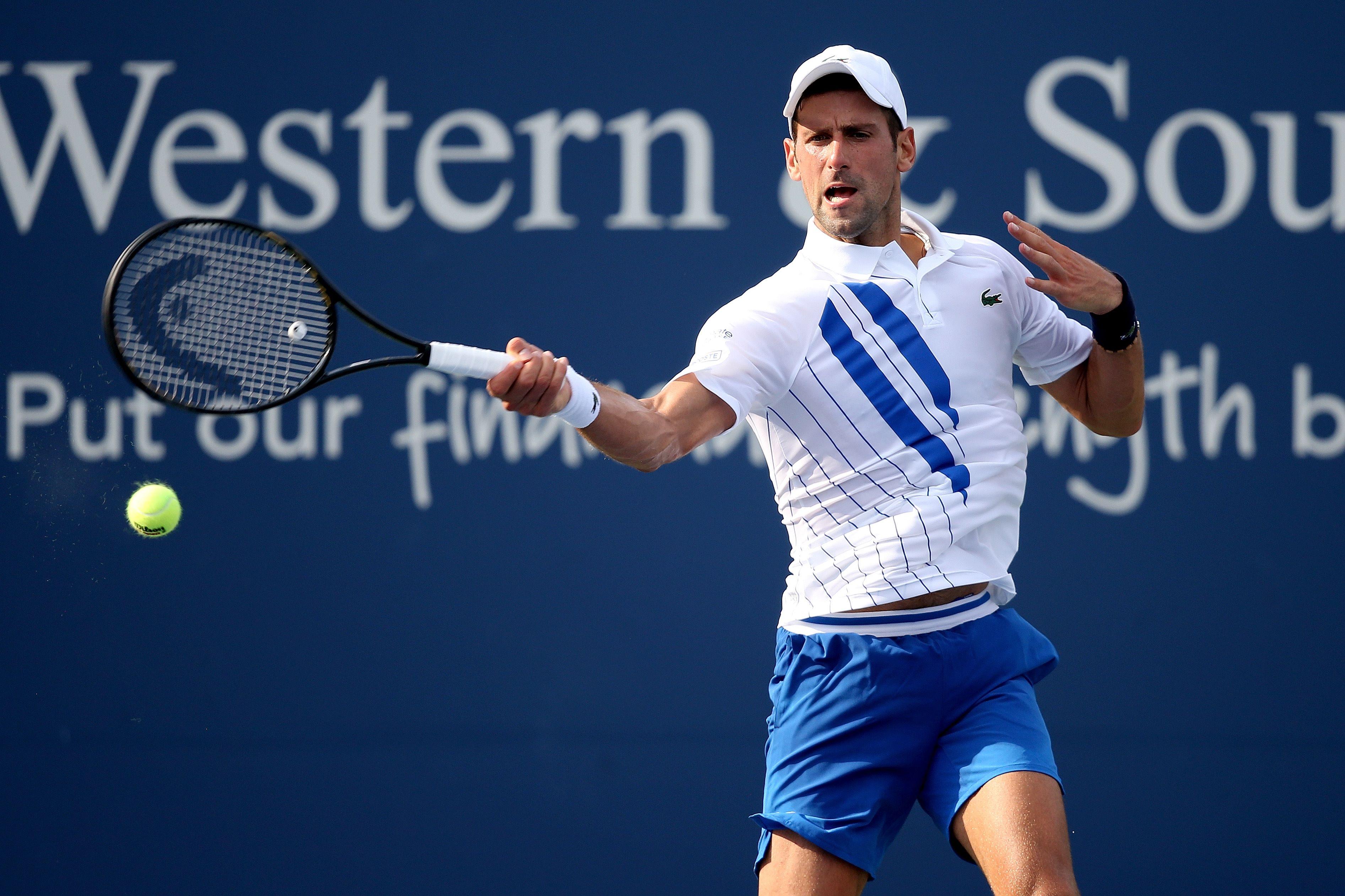Tennis - Cincinnati: Djokovic monte en puissance, fin de l'aventure pour Murray
