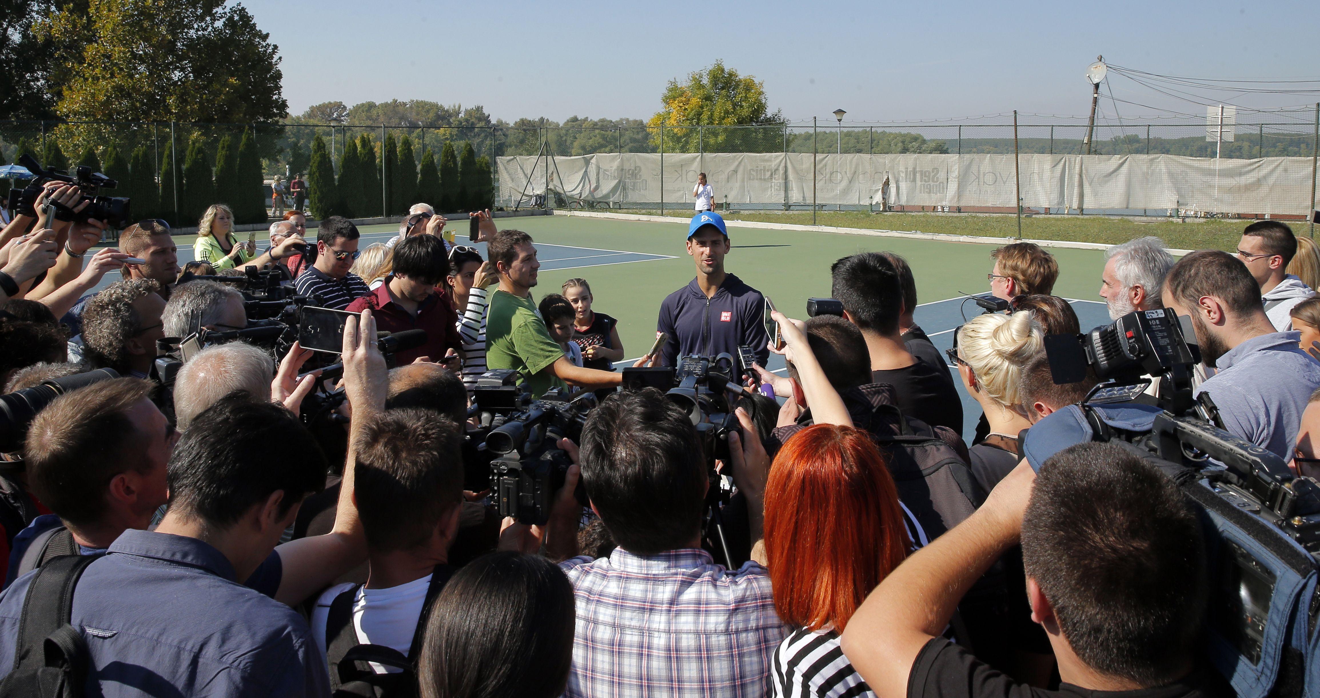 Tennis - Djokovic voit la place de numéro 1 comme «une chose secondaire»