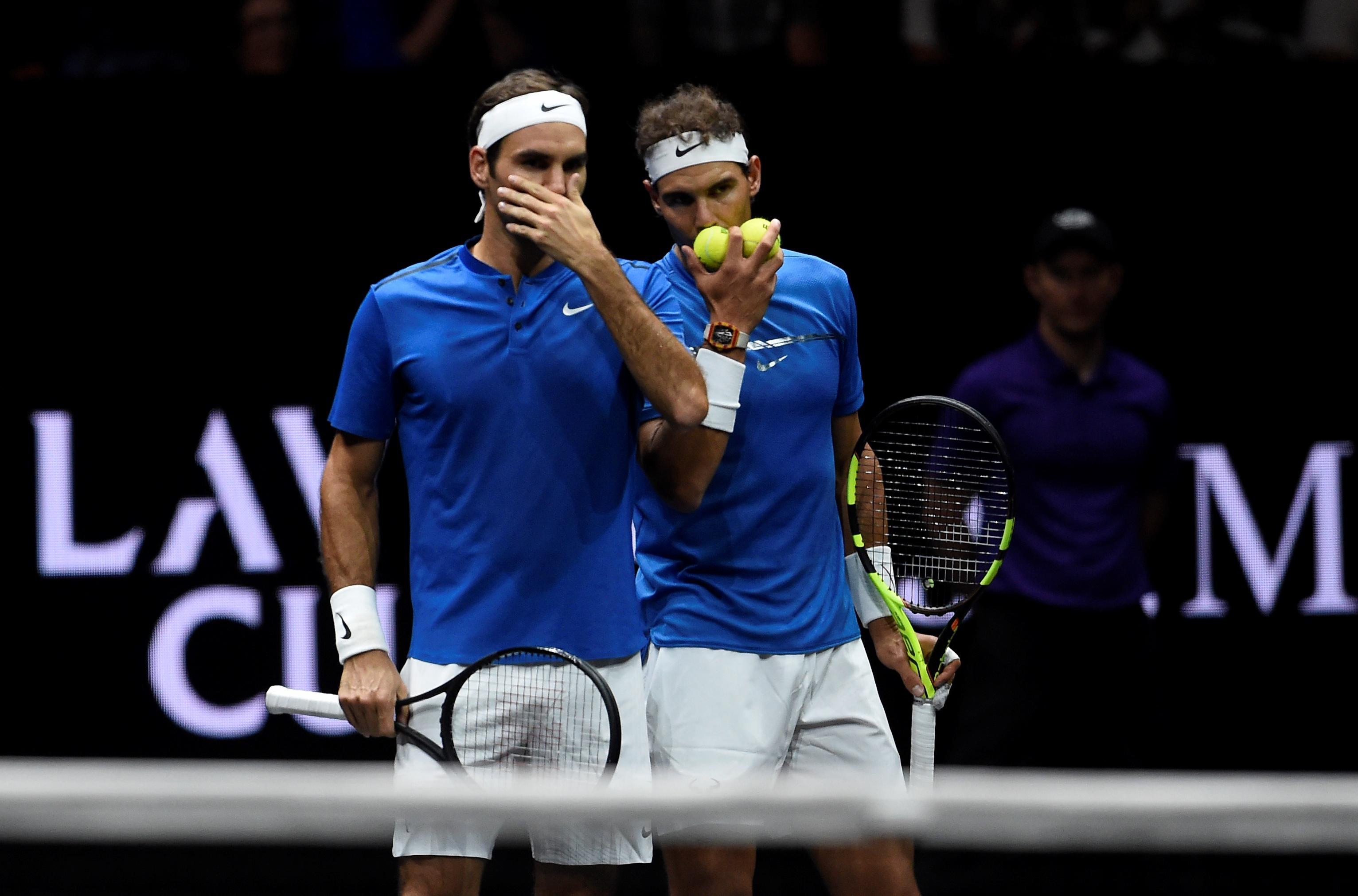 Tennis - Federer et Nadal ont régalé à Prague