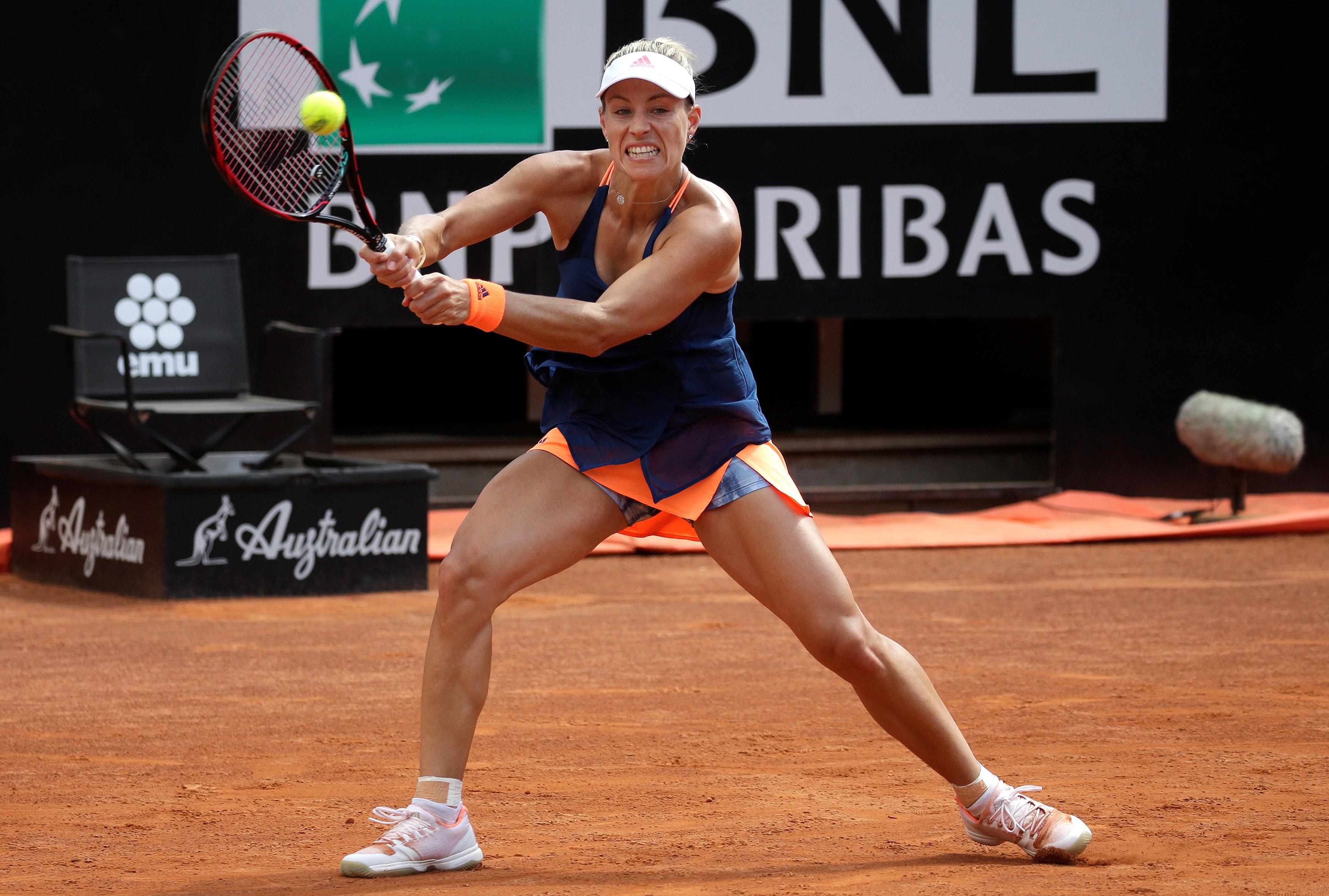 Tennis - Kerber au tapis, Nadal à toute vitesse à Rome
