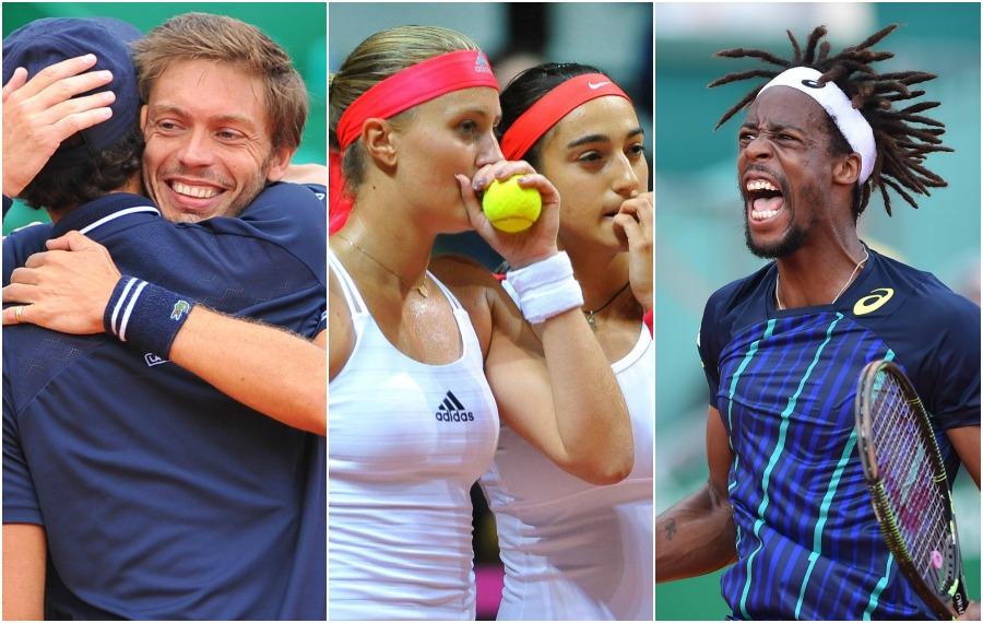 Tennis : L?embellie bleue, à savourer avec modération