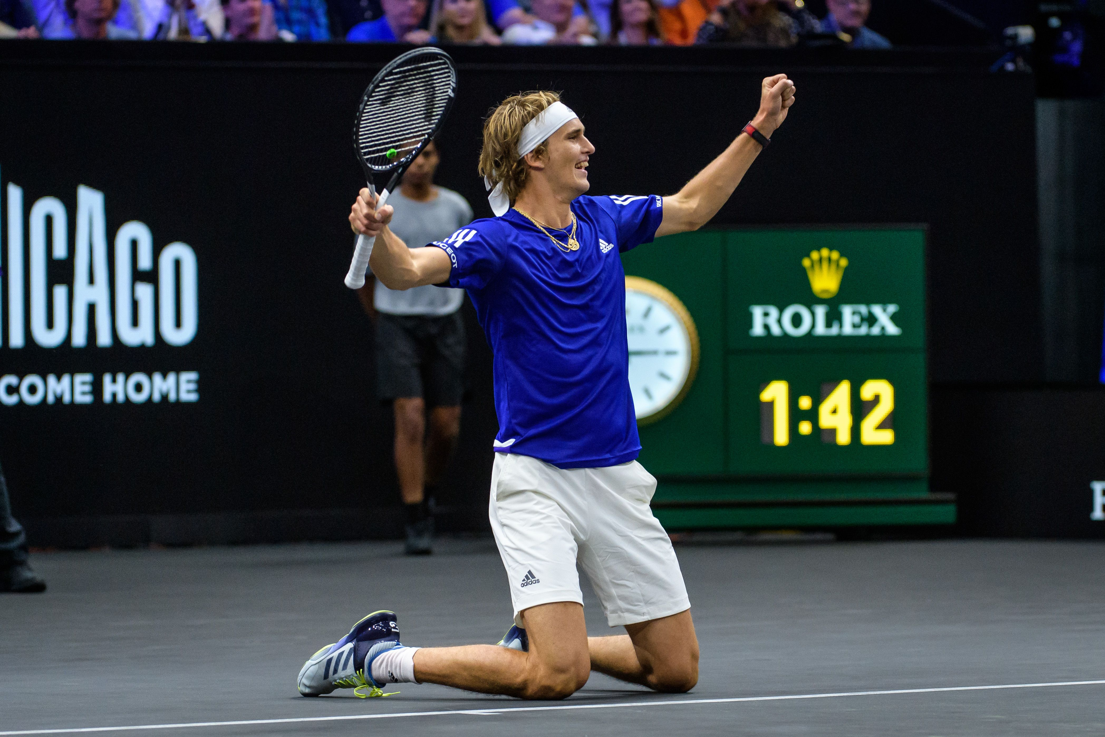 Tennis - Laver Cup : Zverev offre le doublé à l'Europe