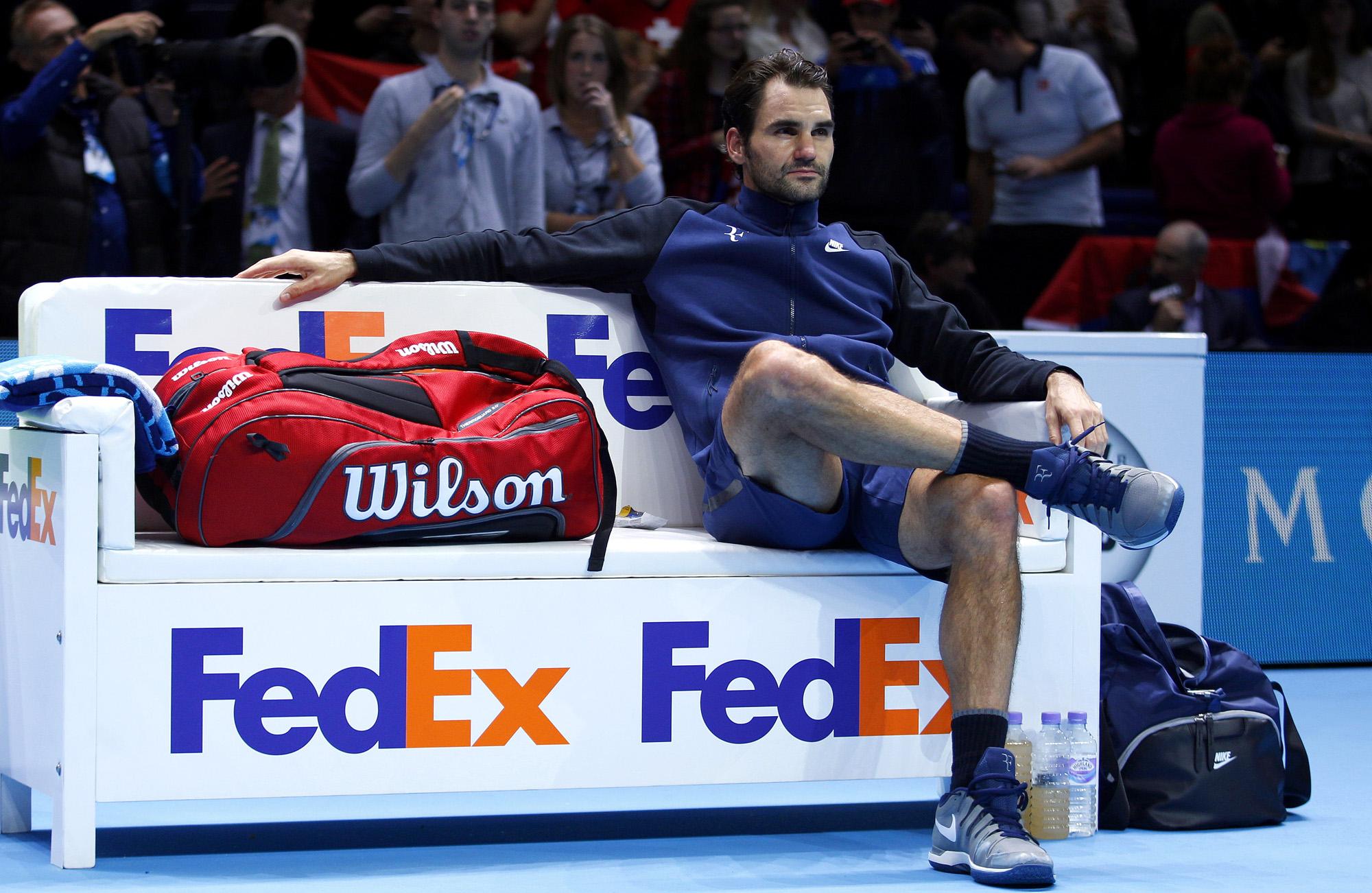 Tennis : Les regrets de Roger Federer