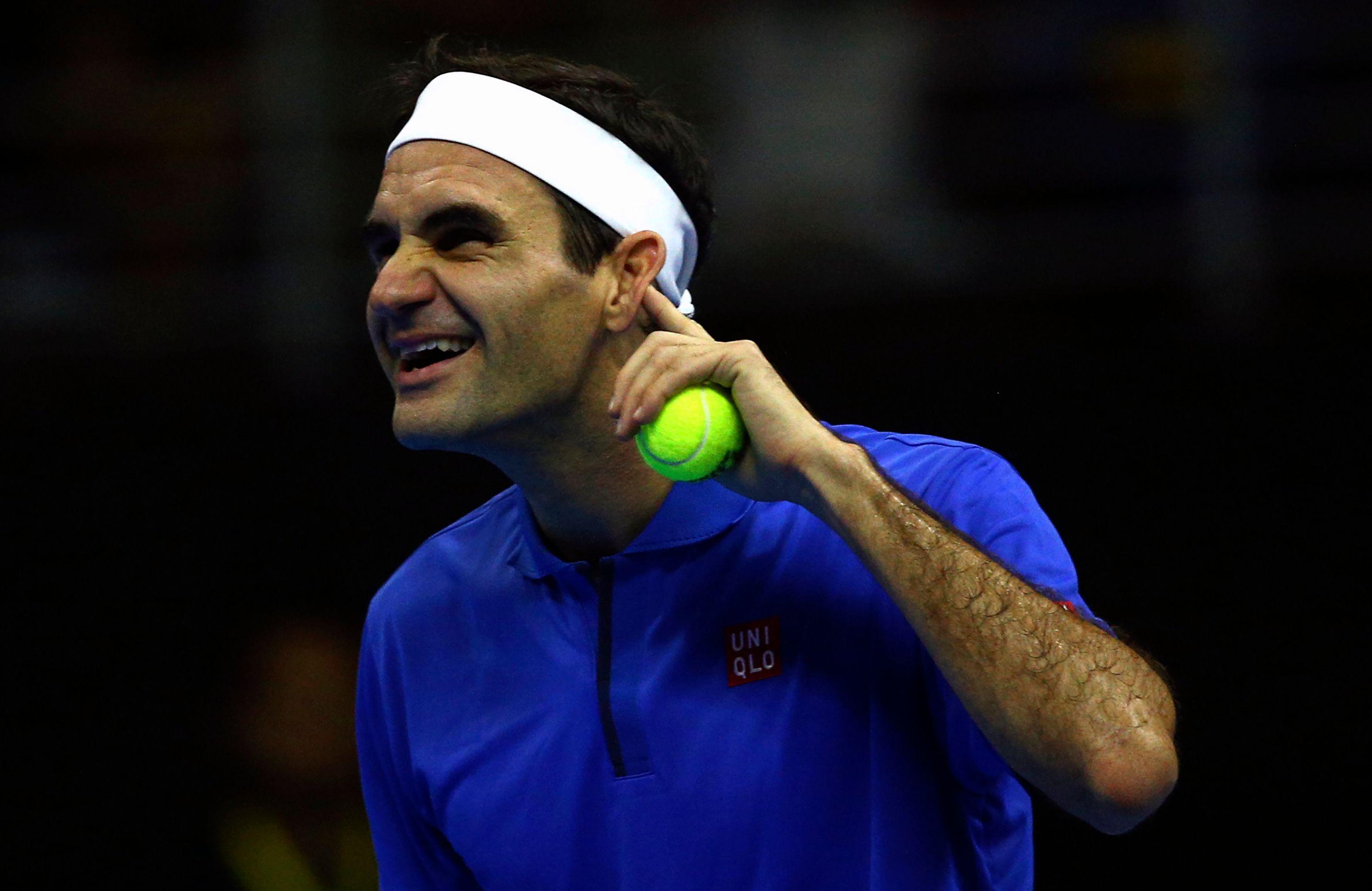 Tennis - Loin de la Coupe Davis et des polémiques, Federer le «Rolling Stone» s'amuse