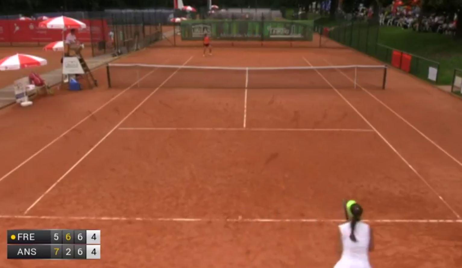 Tennis - Tennis : un échange de 140 coups et long de cinq minutes à Leipzig