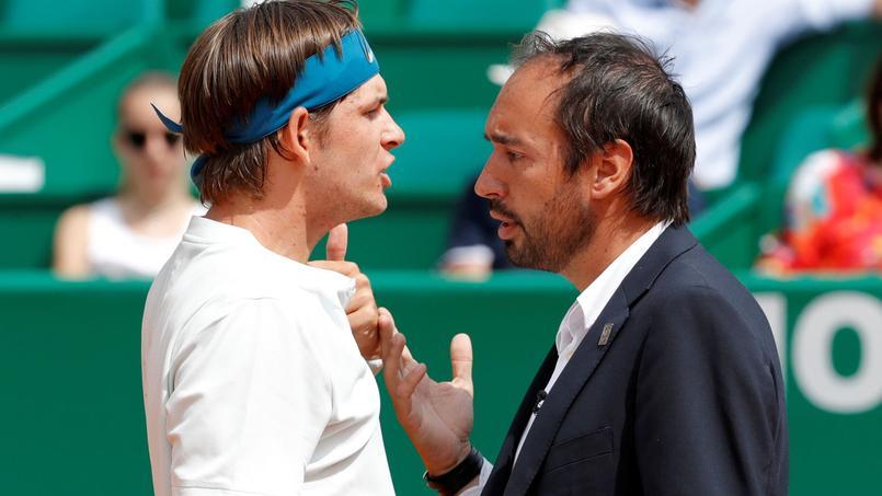 Tennis - Un joueur américain menaçant envers l'arbitre à Monte Carlo