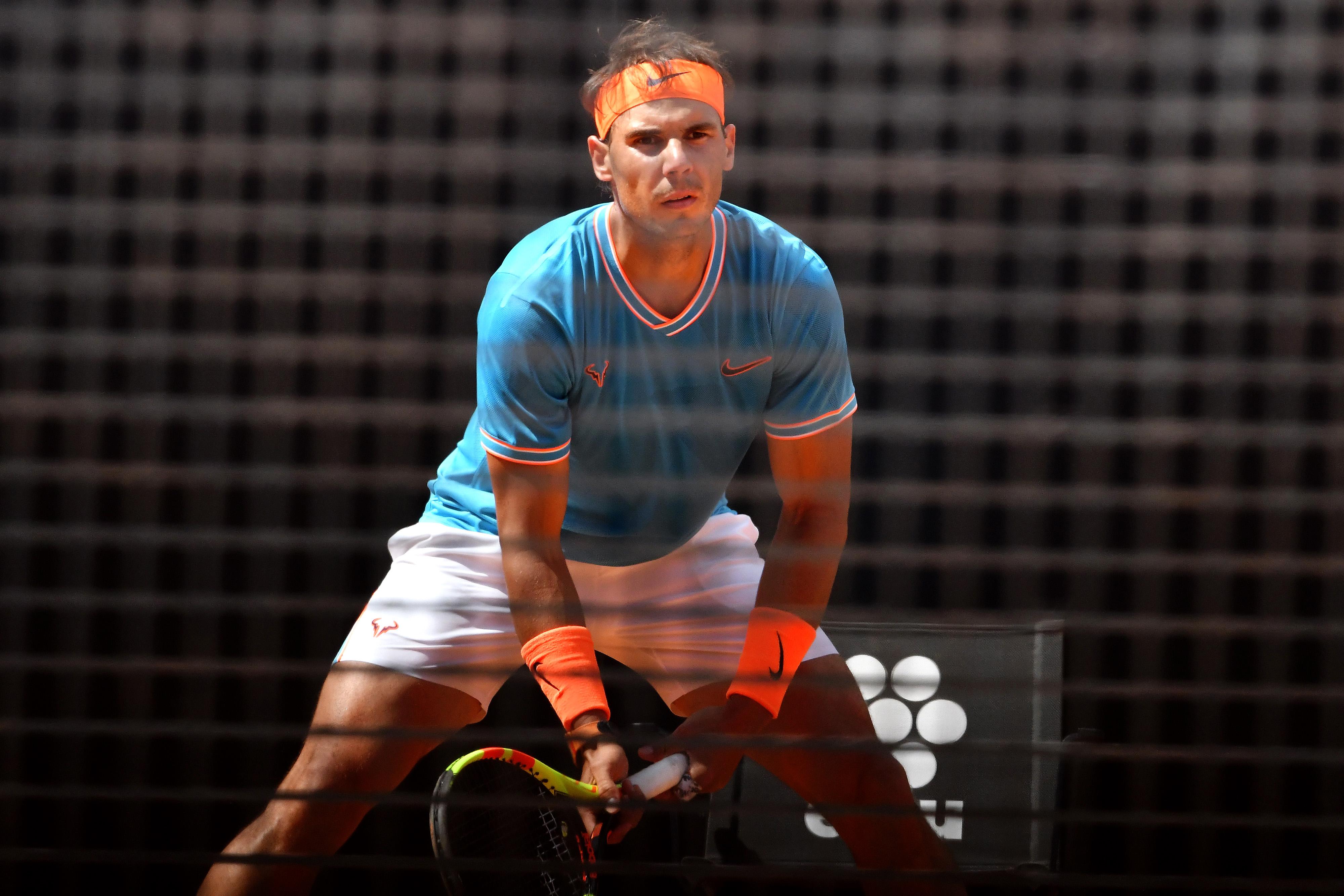 Tennis - ATP - 1/2 finale à Rome : Tsisipas-Nadal en direct