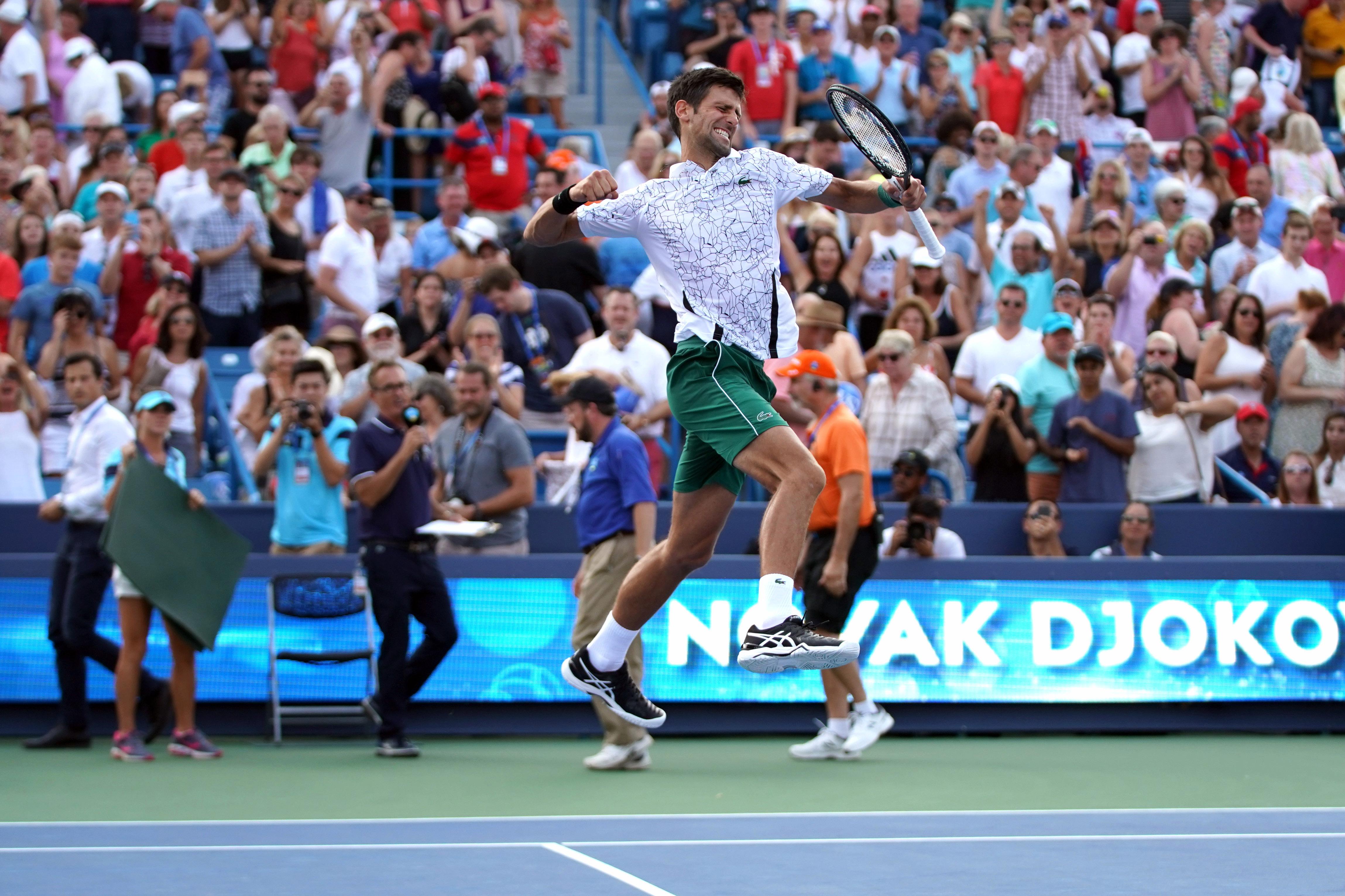 Tennis - ATP - A Cincinnati, Novak Djokovic est entré dans l'histoire