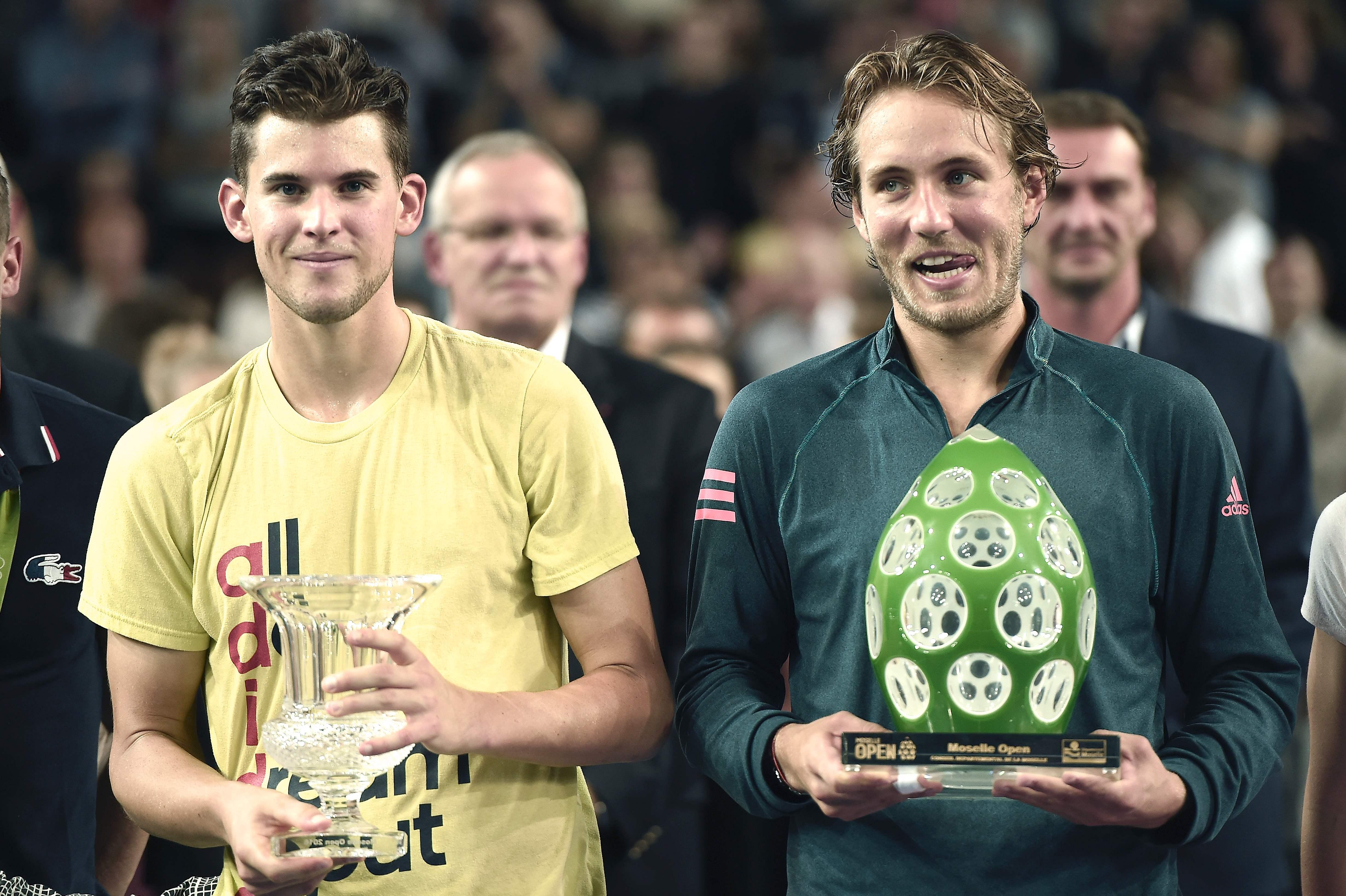 Tennis - ATP - A Metz, Lucas Pouille remporte le premier titre de sa carrière