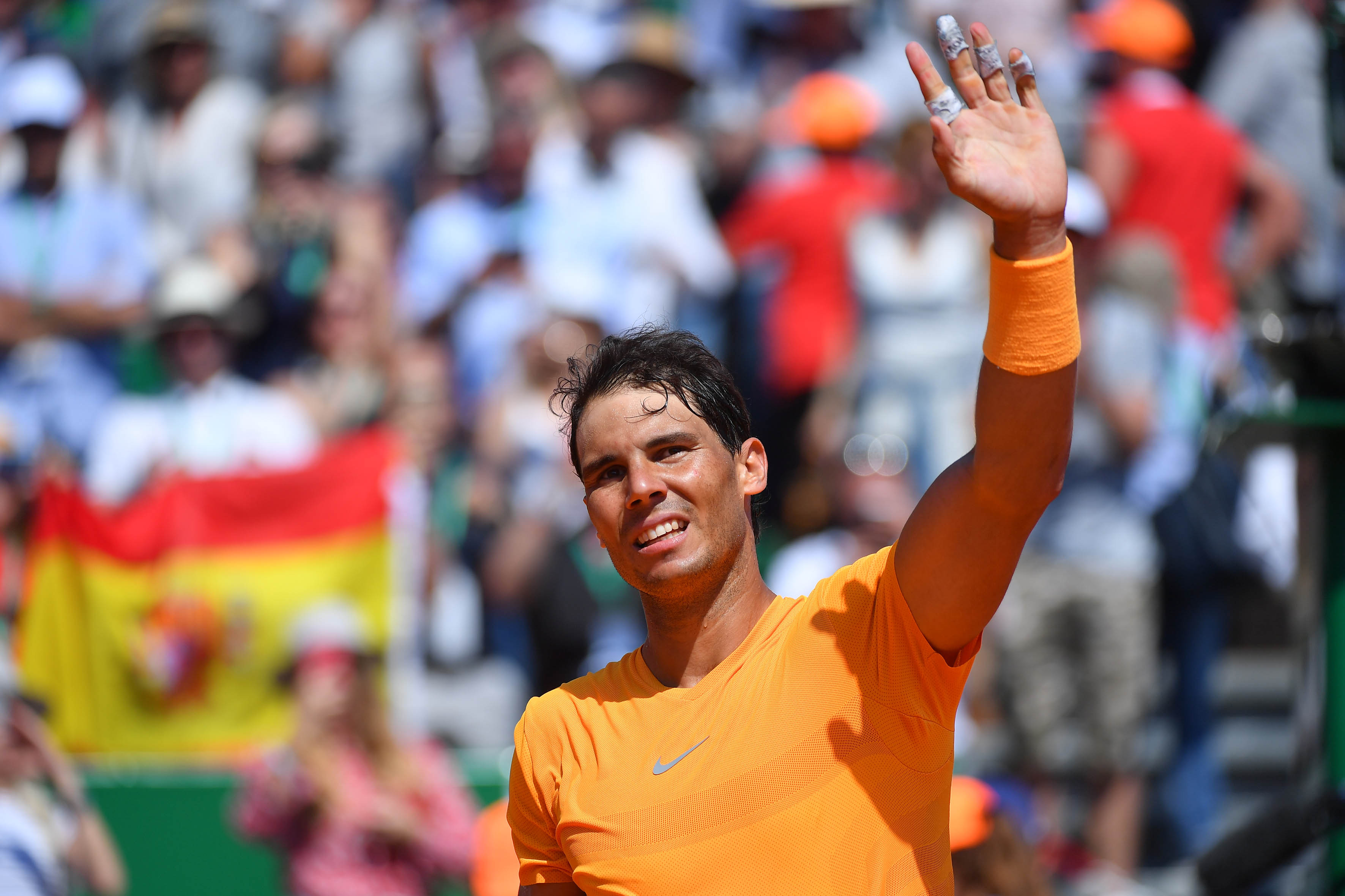À Monte-Carlo, Rafael Nadal est (déjà) impitoyable