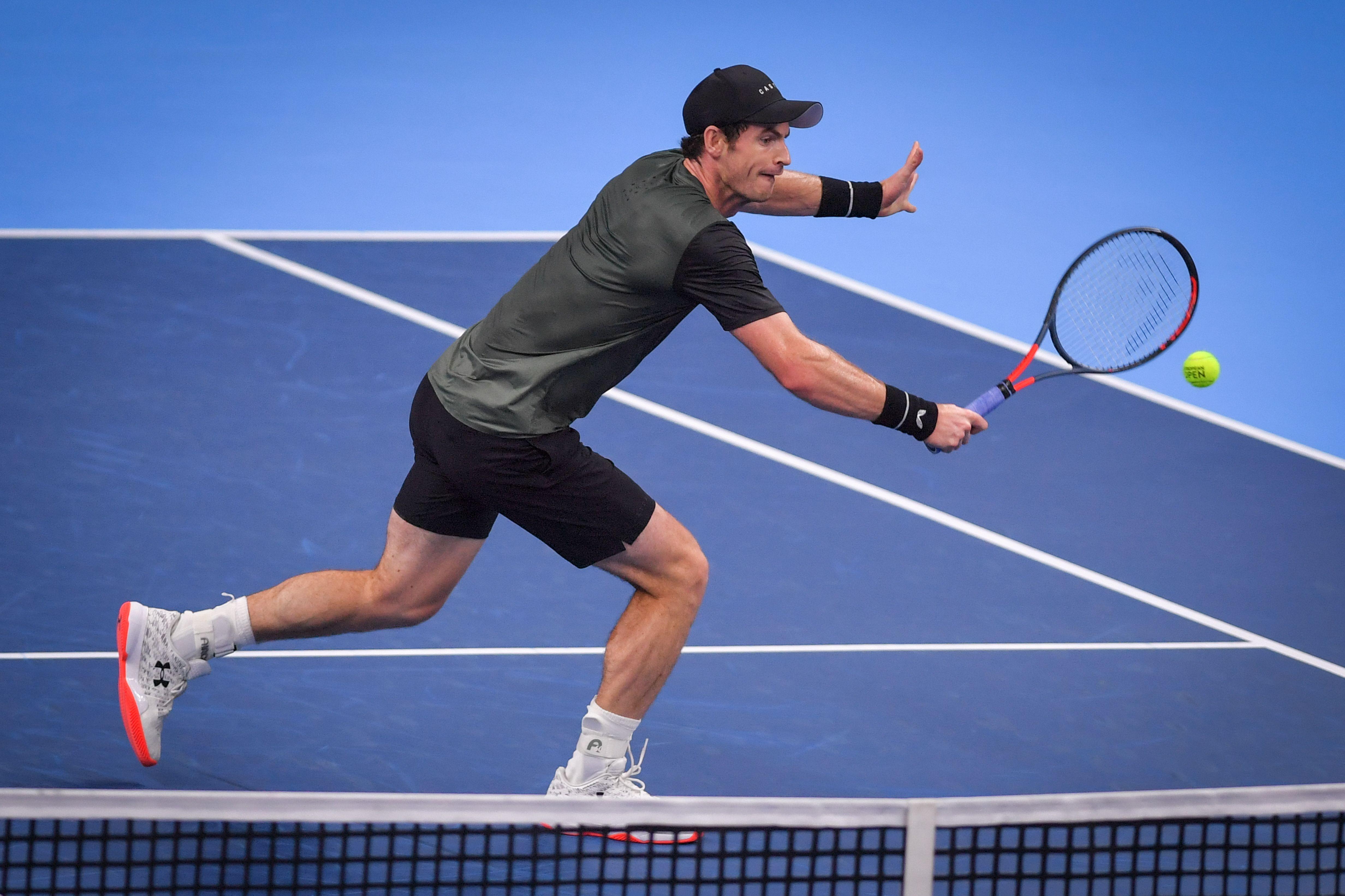 Tennis - ATP - Andy Murray en finale à Anvers, une première depuis 2017