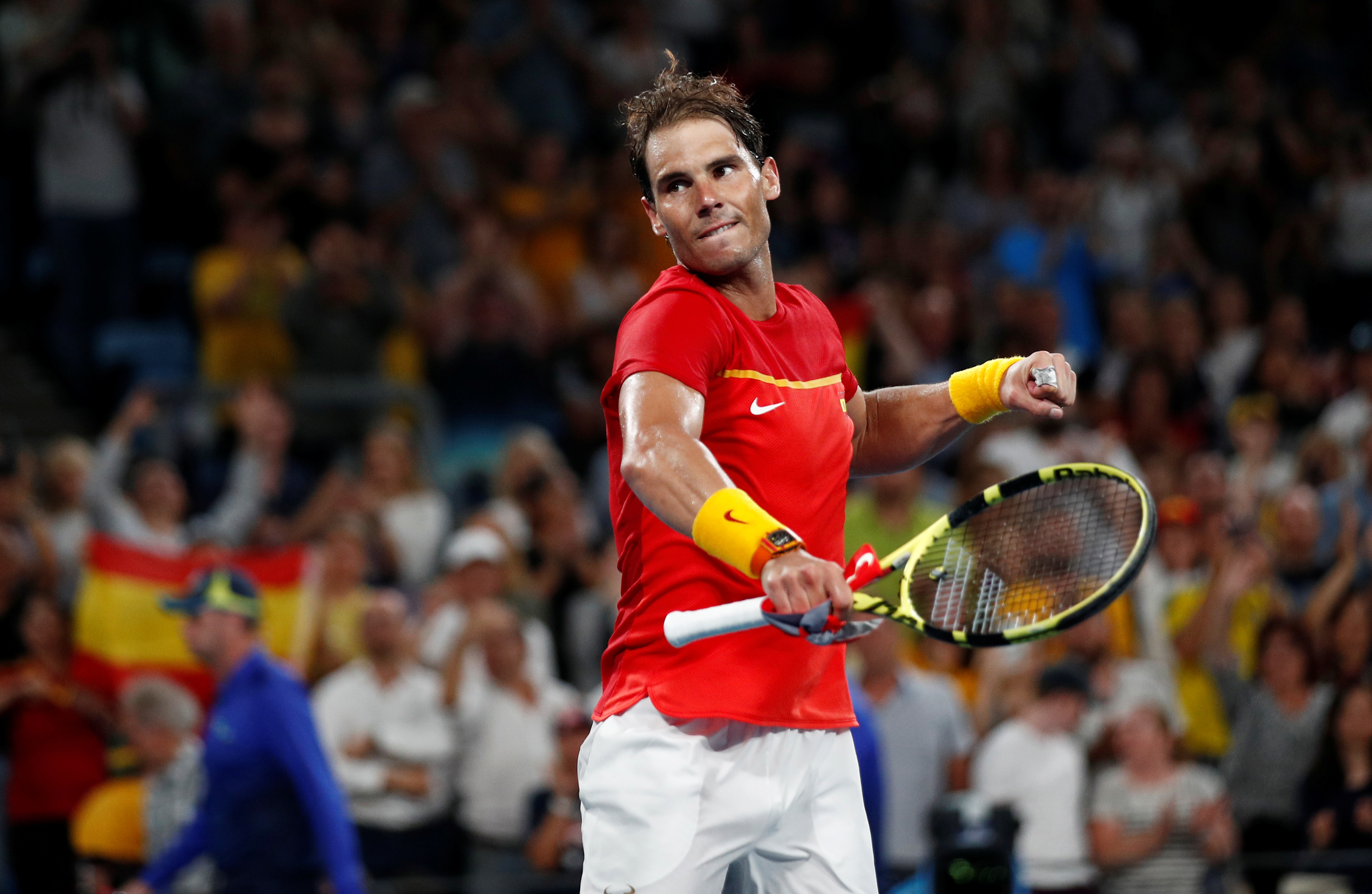 Tennis - ATP - ATP Cup : Nadal a tremblé mais envoie l'Espagne en finale contre la Serbie