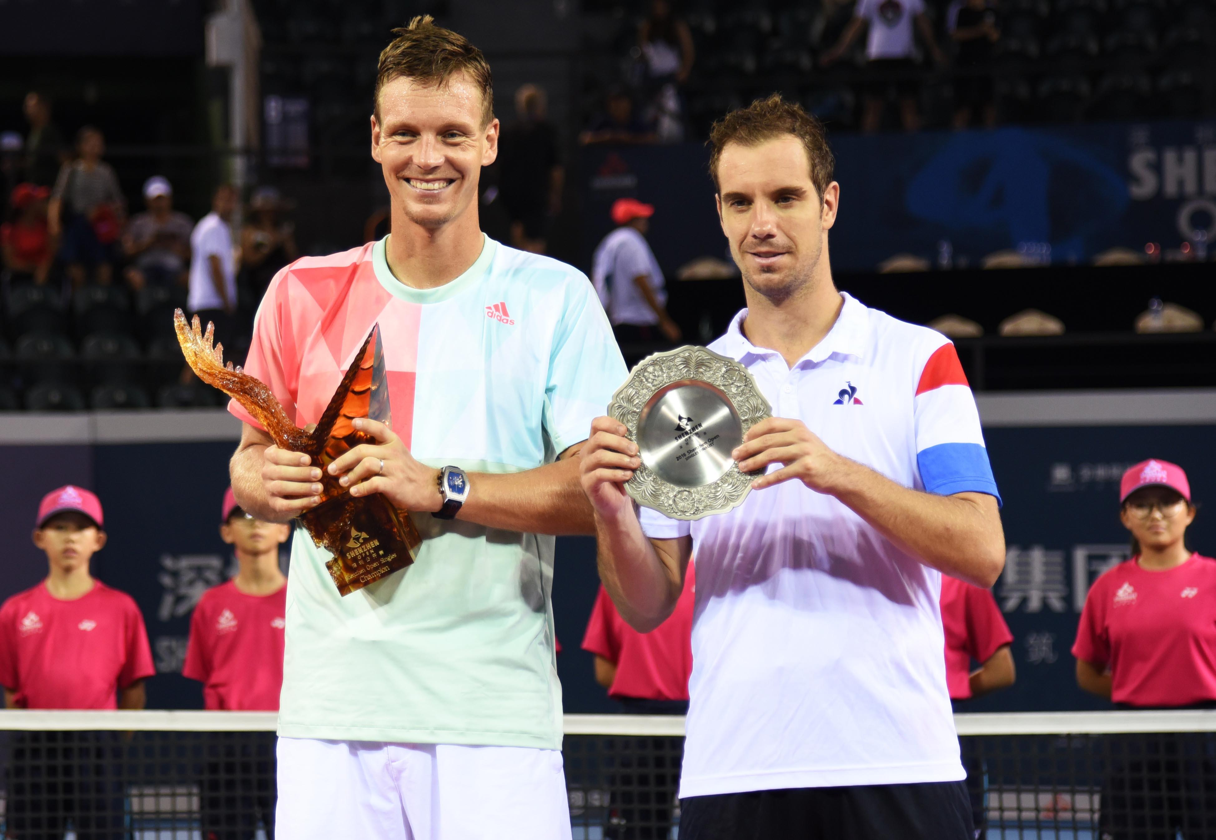 Tennis - ATP - Berdych trop fort pour Gasquet en finale