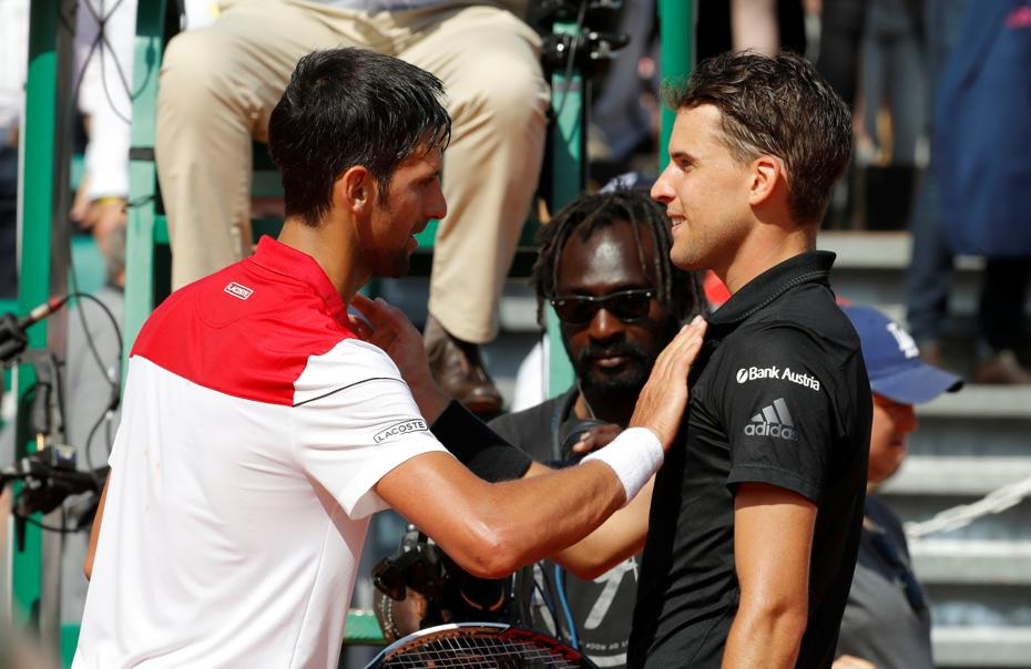 Tennis - ATP - Battu par Thiem, Djokovic mesure le chemin à parcourir avant Roland Garros