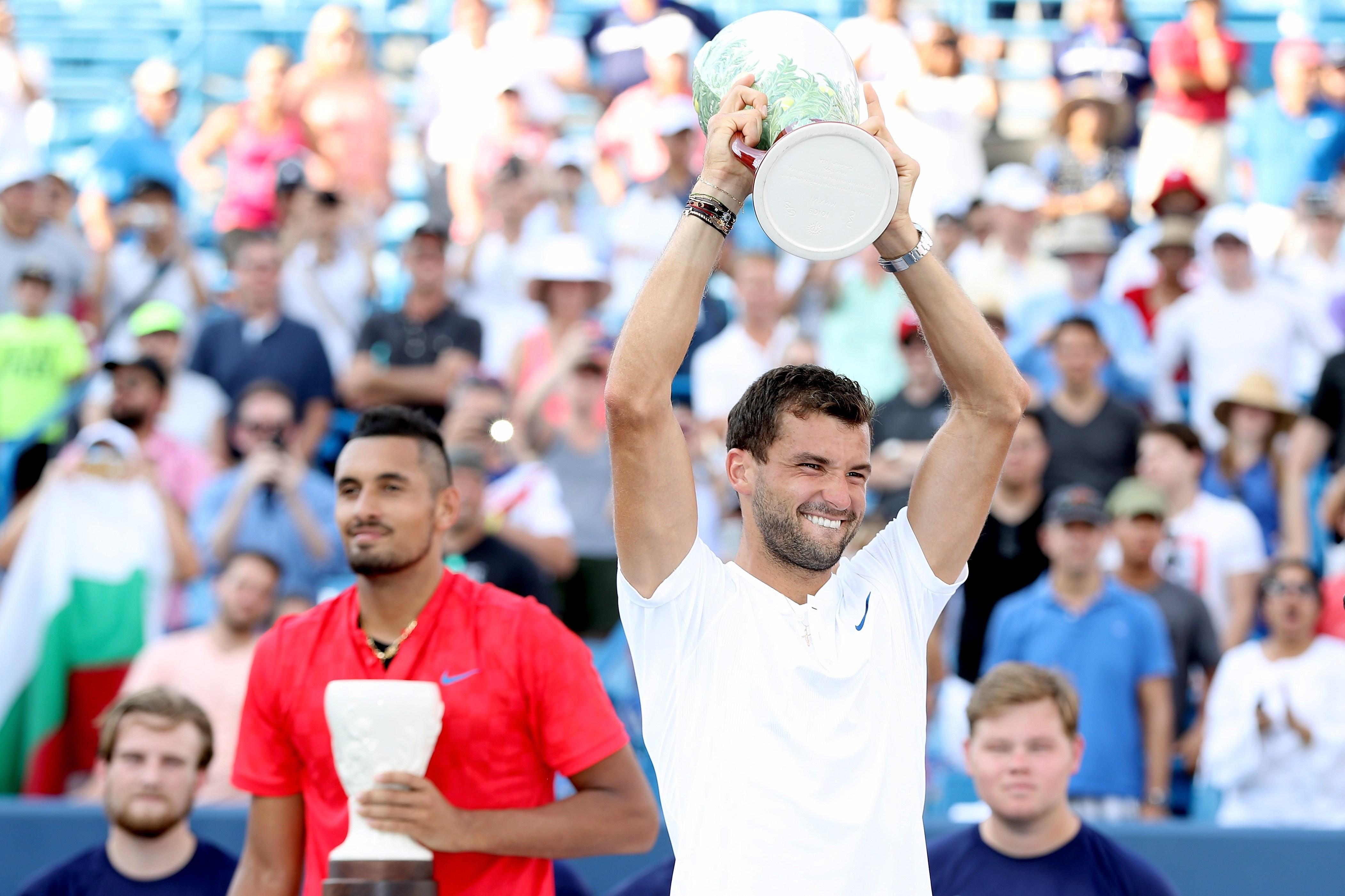 Tennis - ATP - Cincinnati : Dimitrov débloque son compteur en Masters 1000
