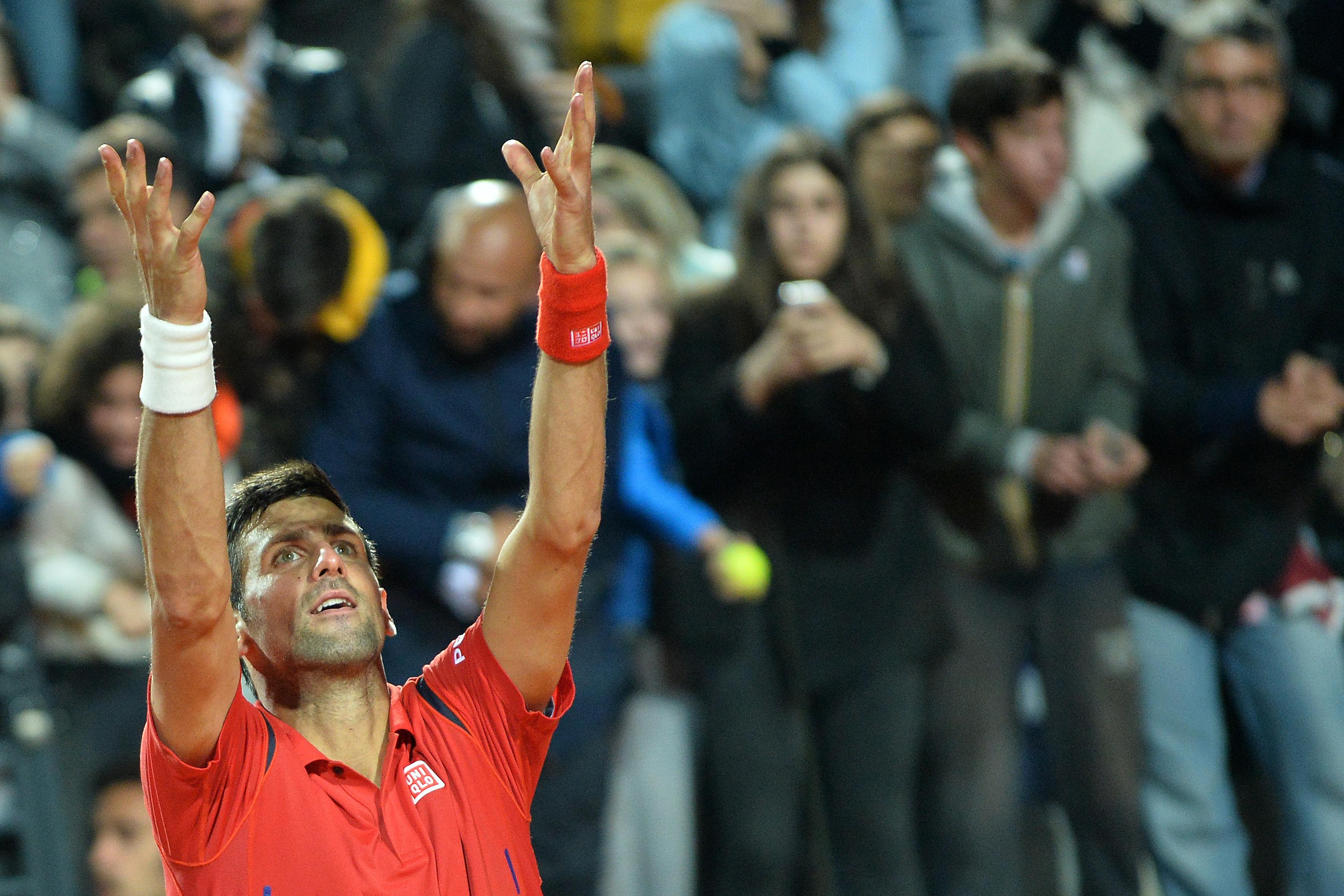 Tennis : ATP - </b>Comme &#224; Madrid, Djokovic d&#233;fiera Murray en finale &#224; Rome