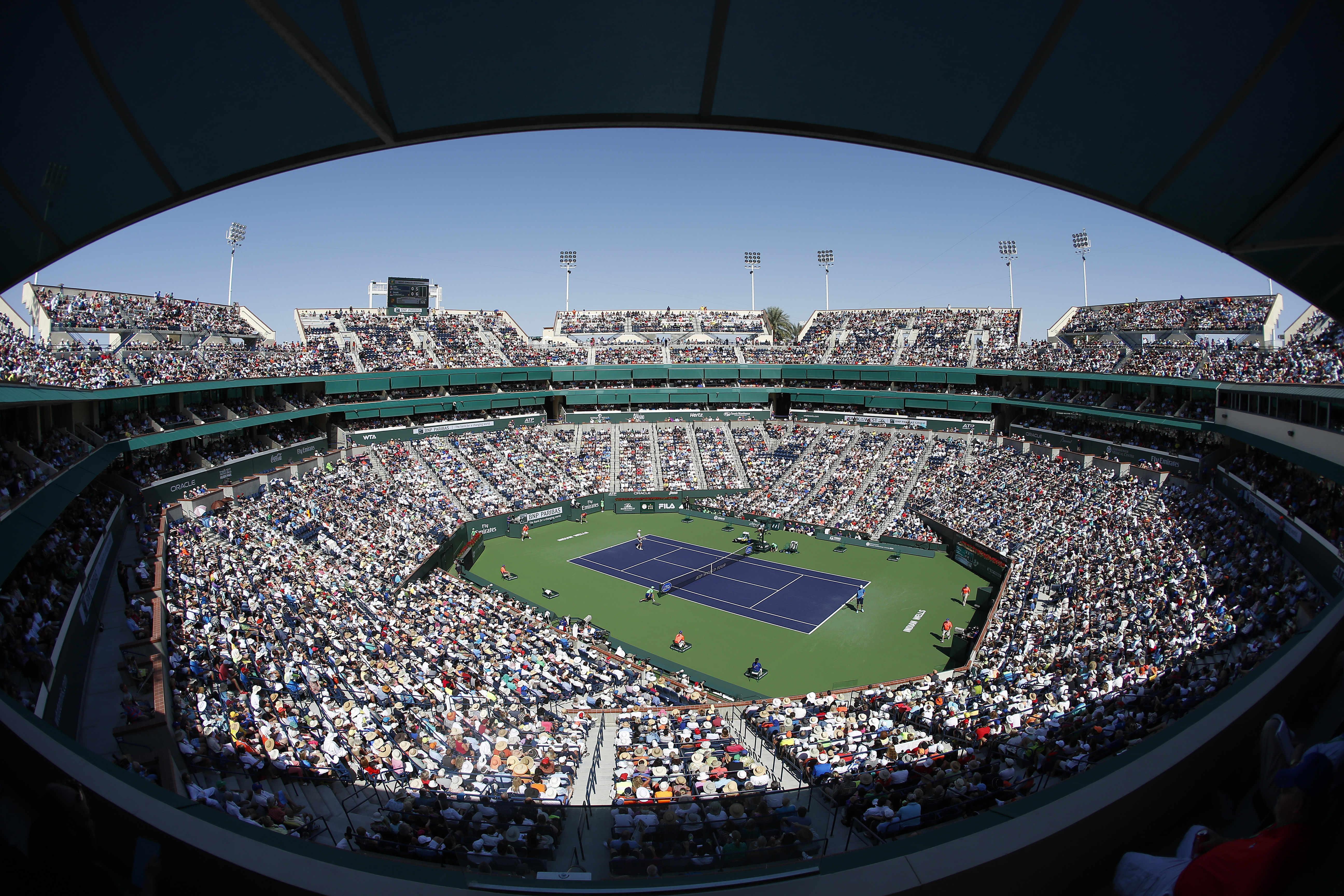 Tennis - ATP - Coronavirus: Indian Wells, premier tournoi annulé de la planète tennis