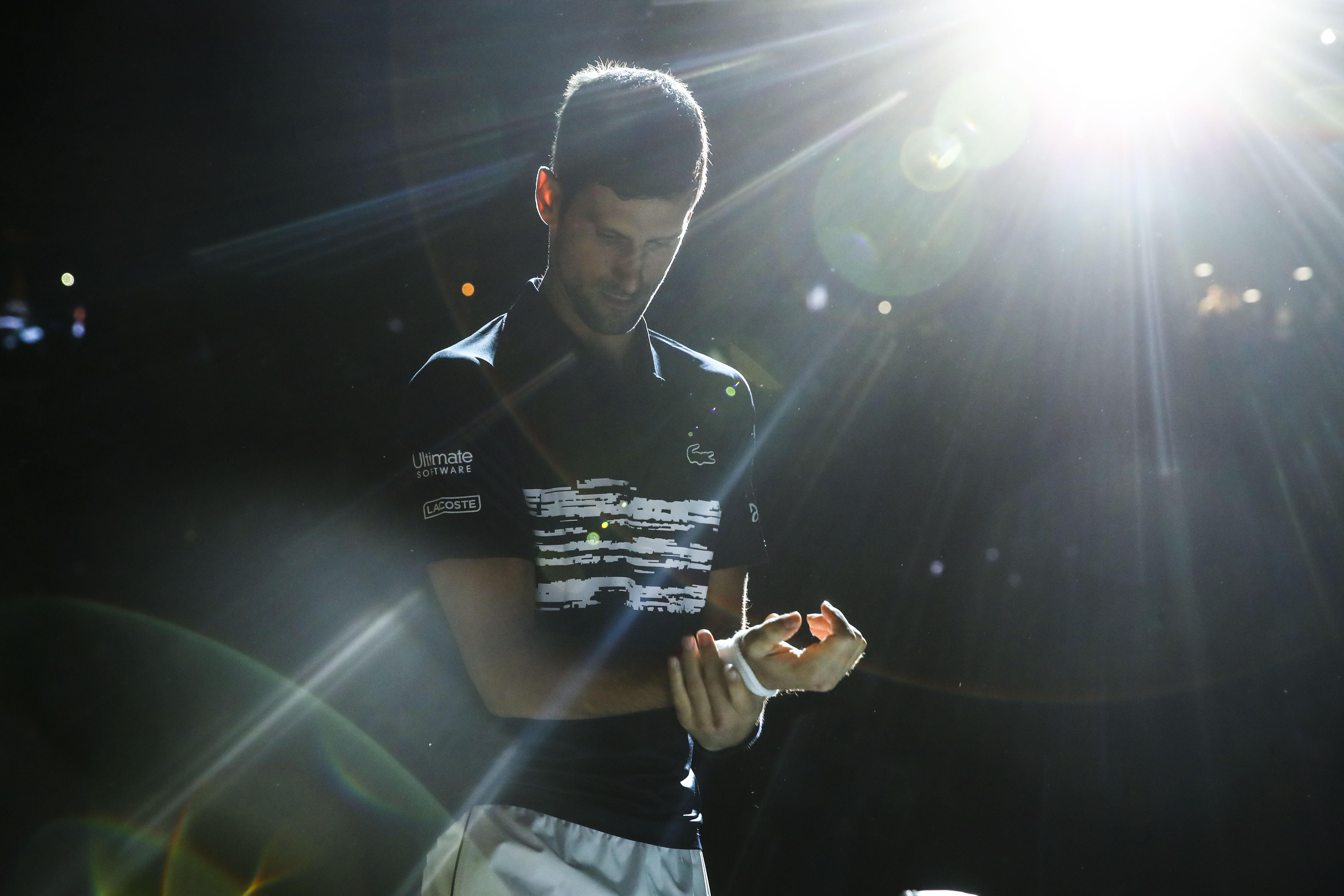 Tennis - ATP - Djokovic, impressionnant bourreau de Tsitsipas : «L'un de mes meilleurs matches cette année»