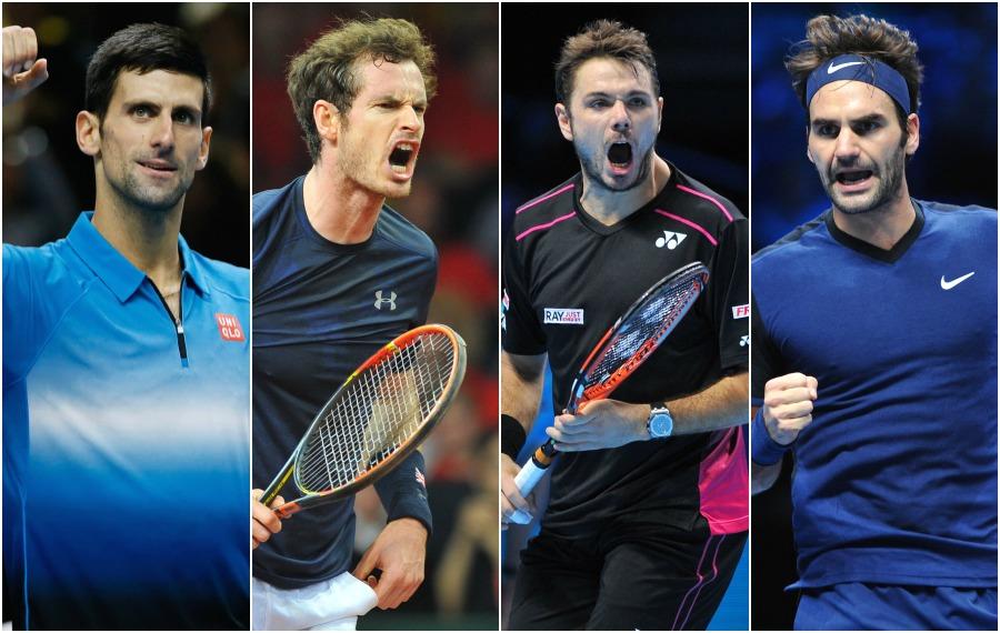 ATP - Djokovic, Murray, Noah: le best of de l?année 2015