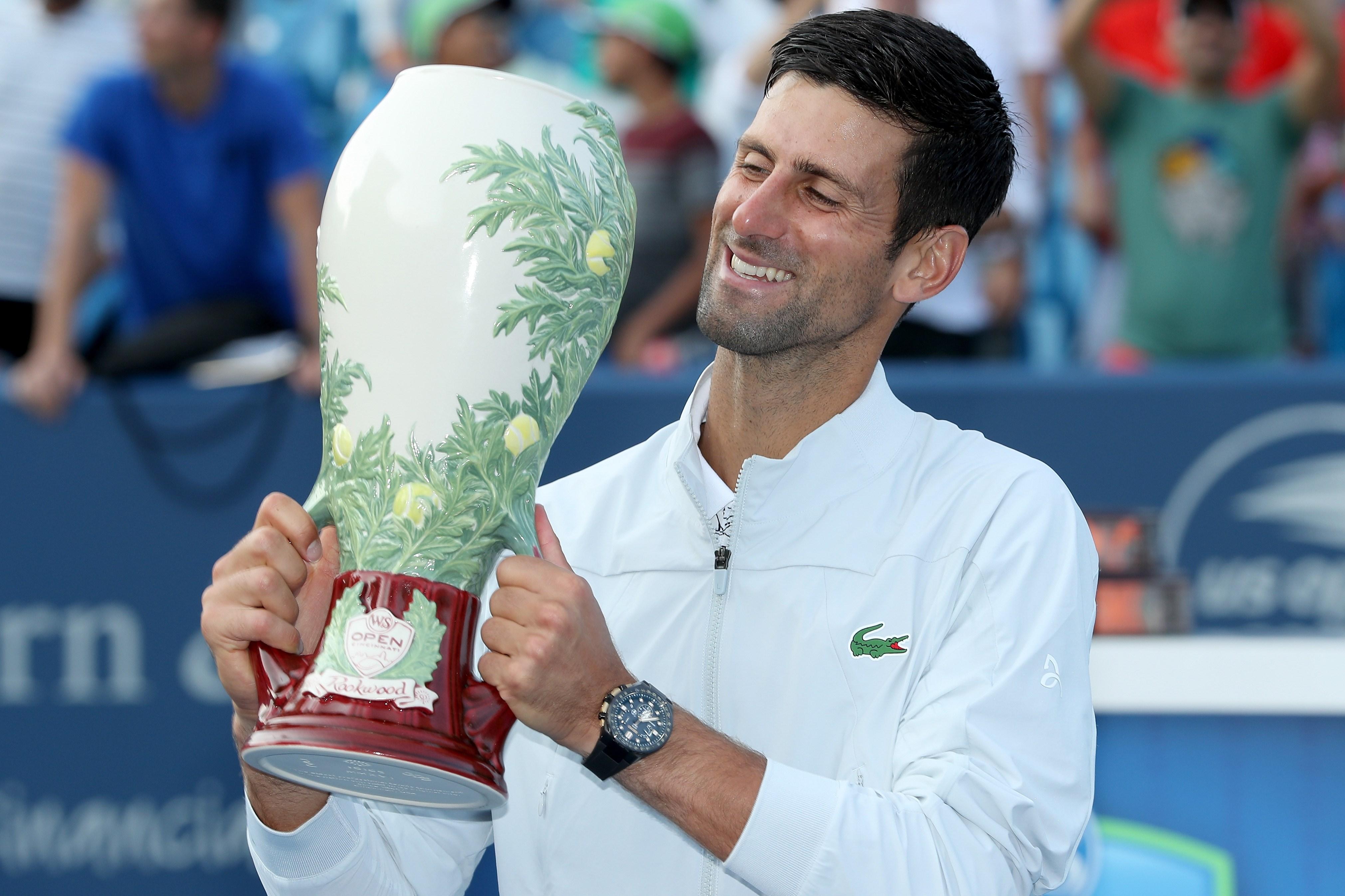 Tennis - ATP - Djokovic : «Un honneur dont je serai fier pour le restant de mes jours»