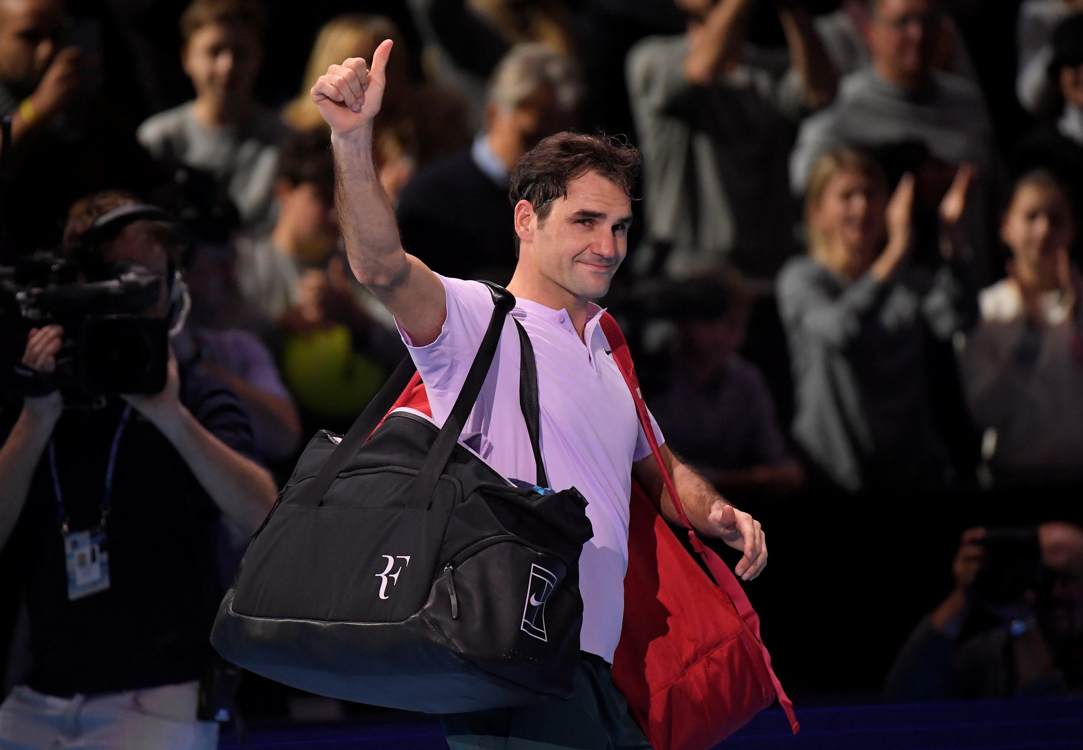 Tennis - ATP - Federer après son élimination au Masters : «J'ai vécu une année fantastique»