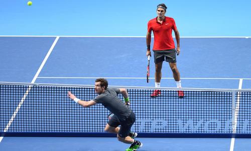 Federer corrige Murray et qualifie Nishikori - ATP - Tennis -