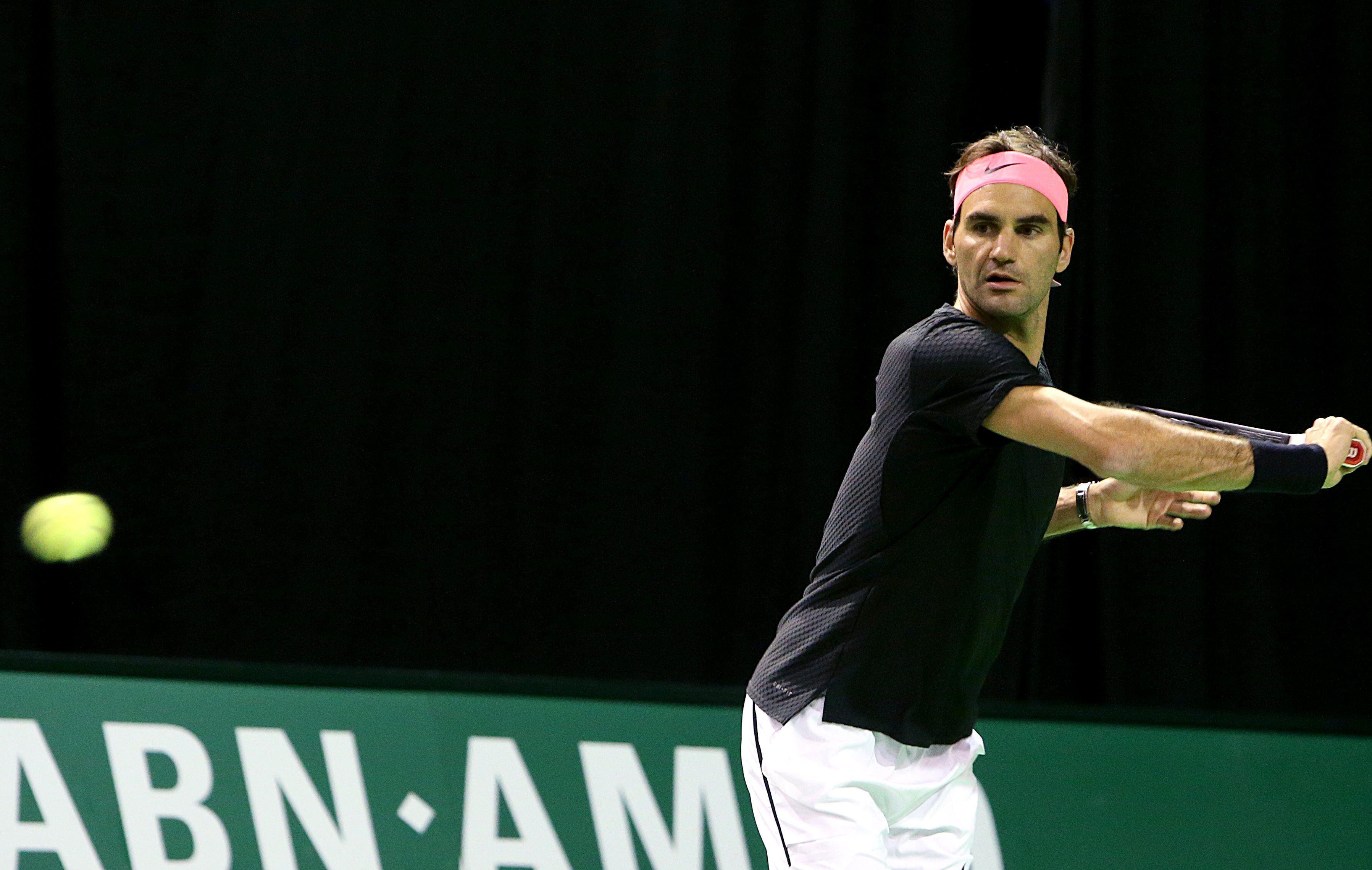 Tennis - ATP - Federer en chasse de la première place mondiale à Rotterdam