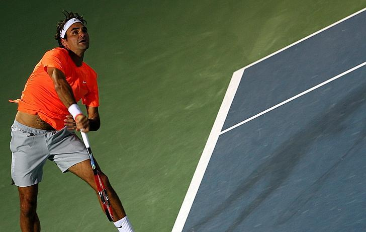 Tennis : ATP - Federer est aussi un grand serveur