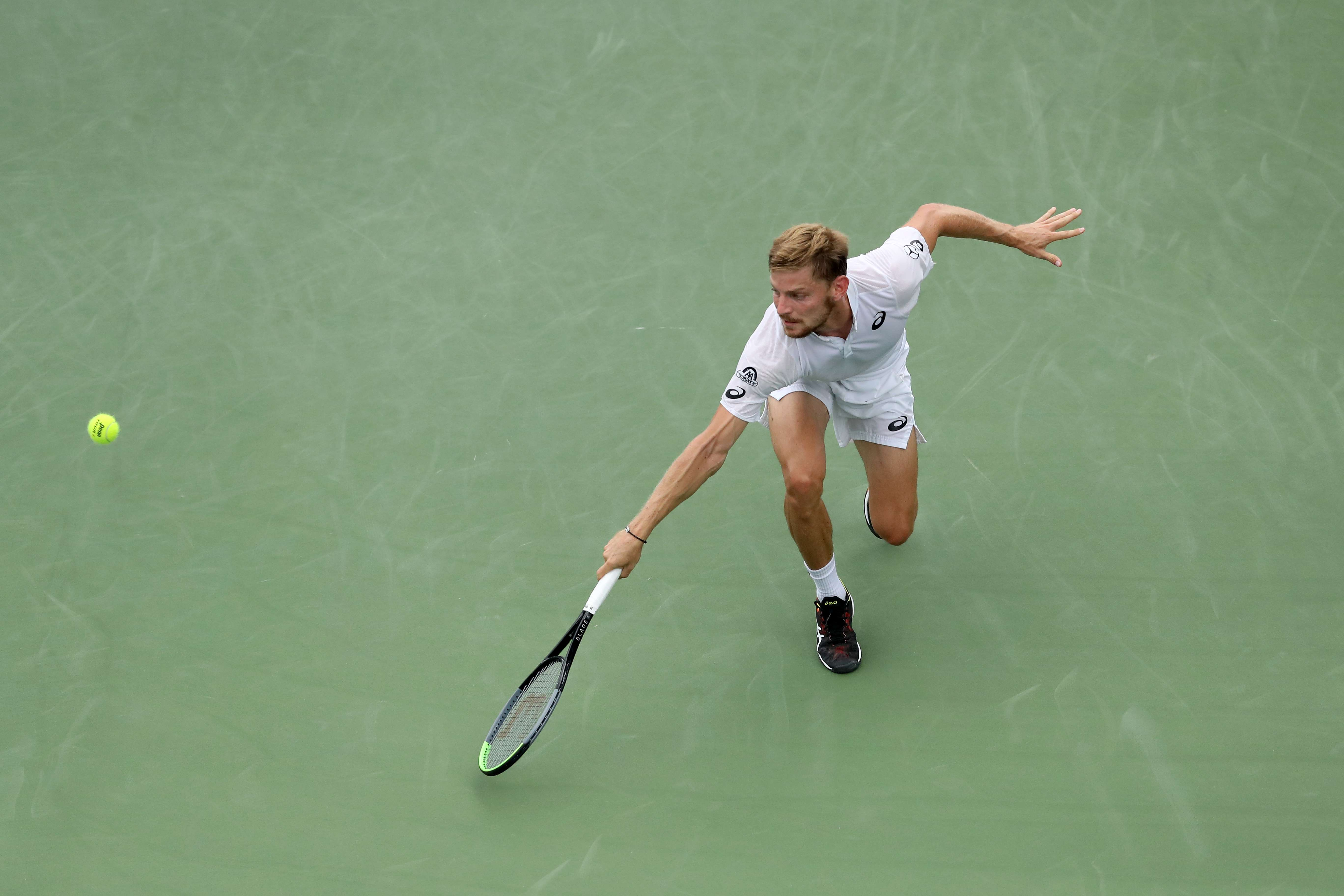 Tennis - ATP - Goffin se transforme en mur et signe un point magistral face à Gasquet (vidéo)