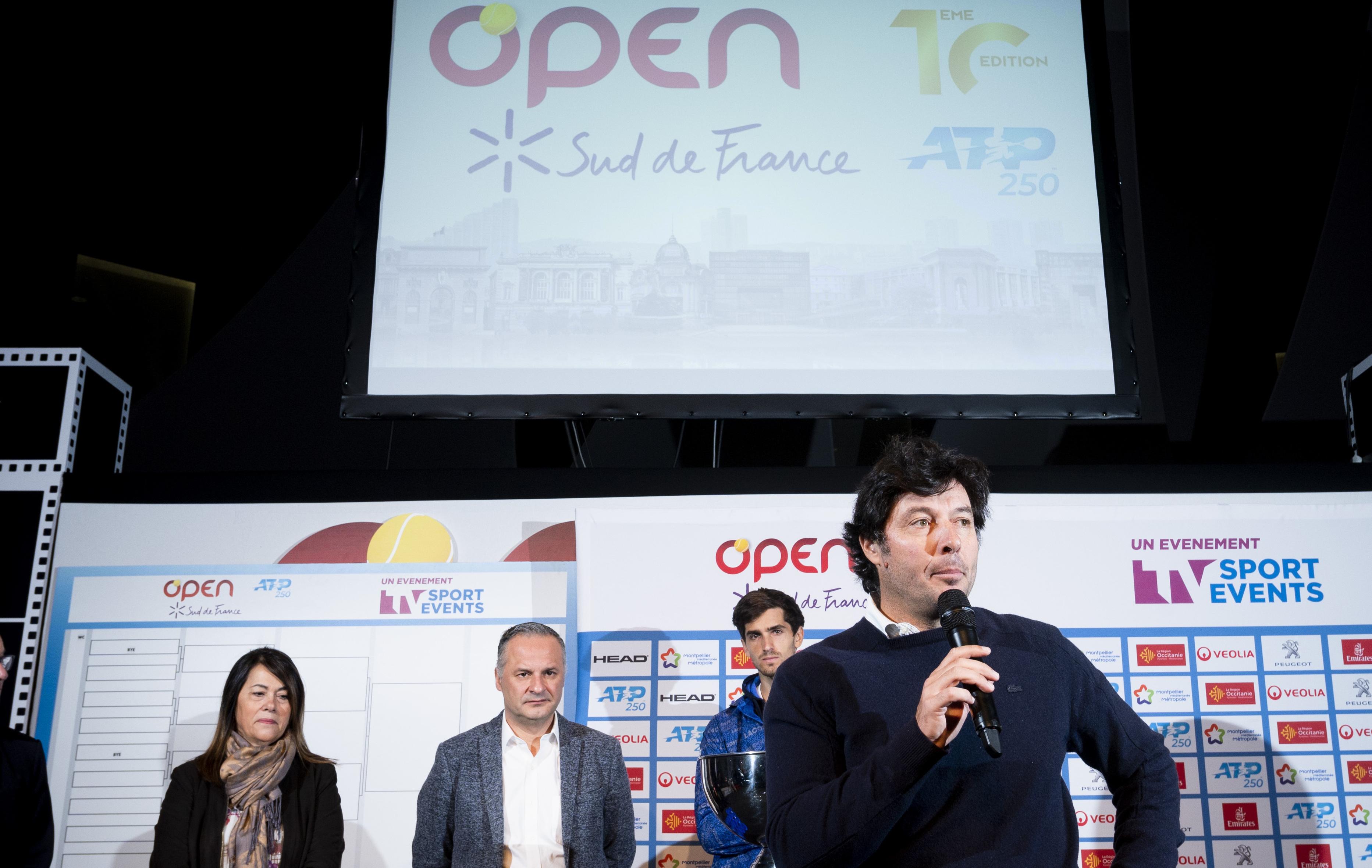 Tennis - ATP - Open Sud de France: Comment Grosjean a fait face à l'hécatombe