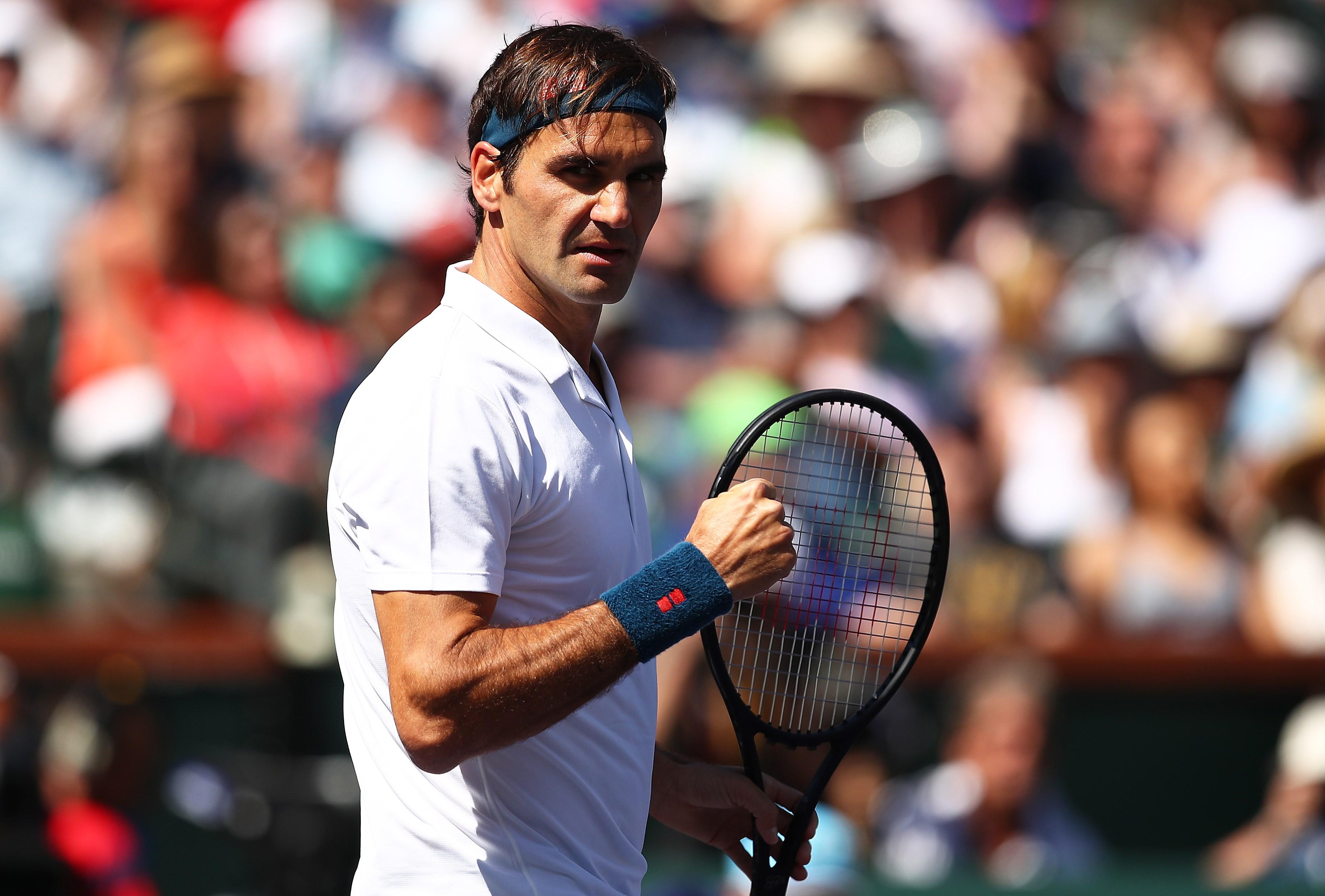 Federer Hurkacz Pinterest: Indian Wells : Federer écarte Tranquillement Hurkacz Pour