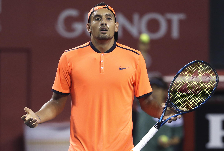 Tennis - ATP - Kyrgios balance son match et estime qu'il «ne doit rien au public»